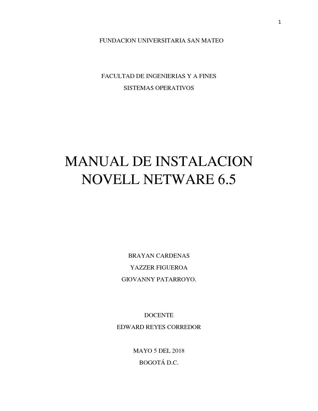 netware 6.5 iso