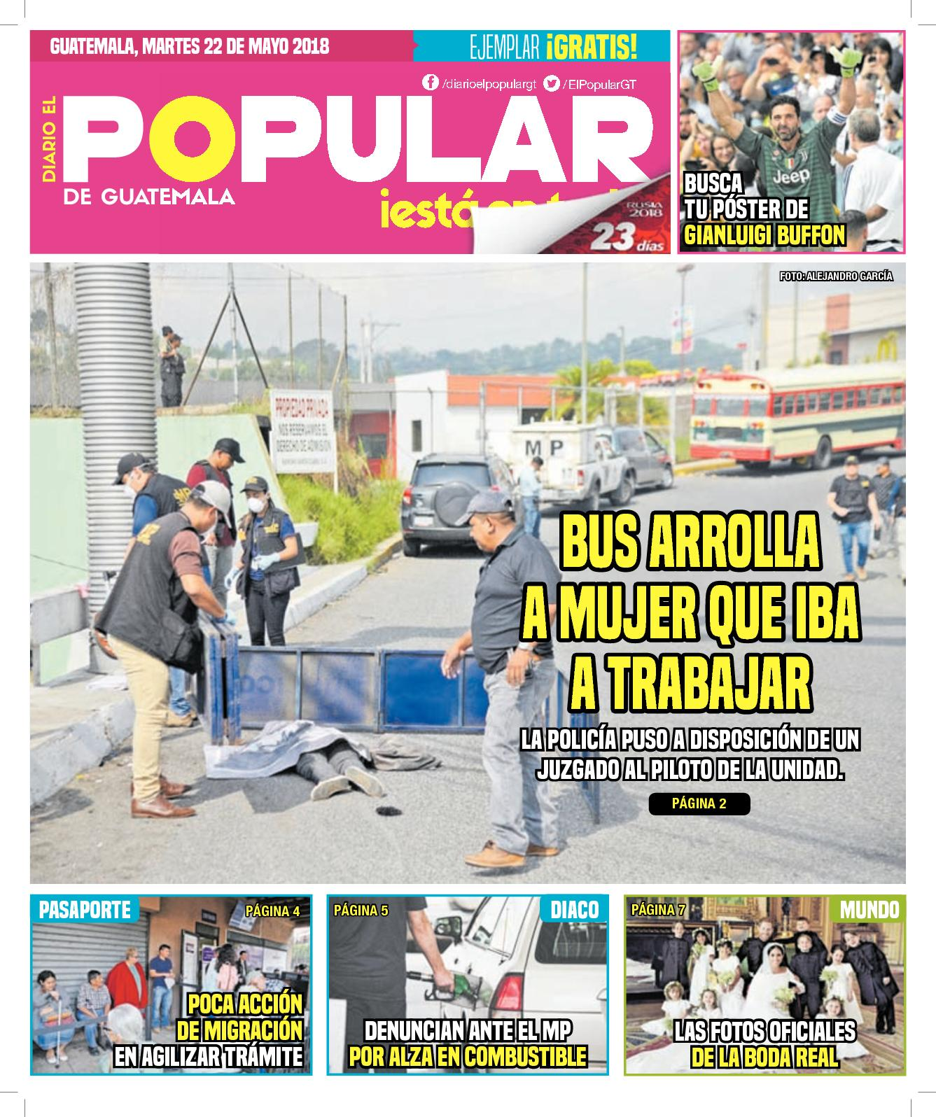EL POPULAR GUATEMALA 22052018
