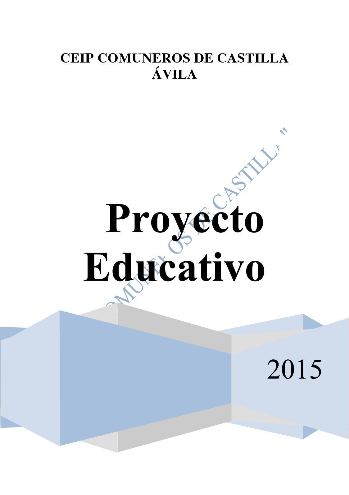 Calaméo - Proyecto Educativo