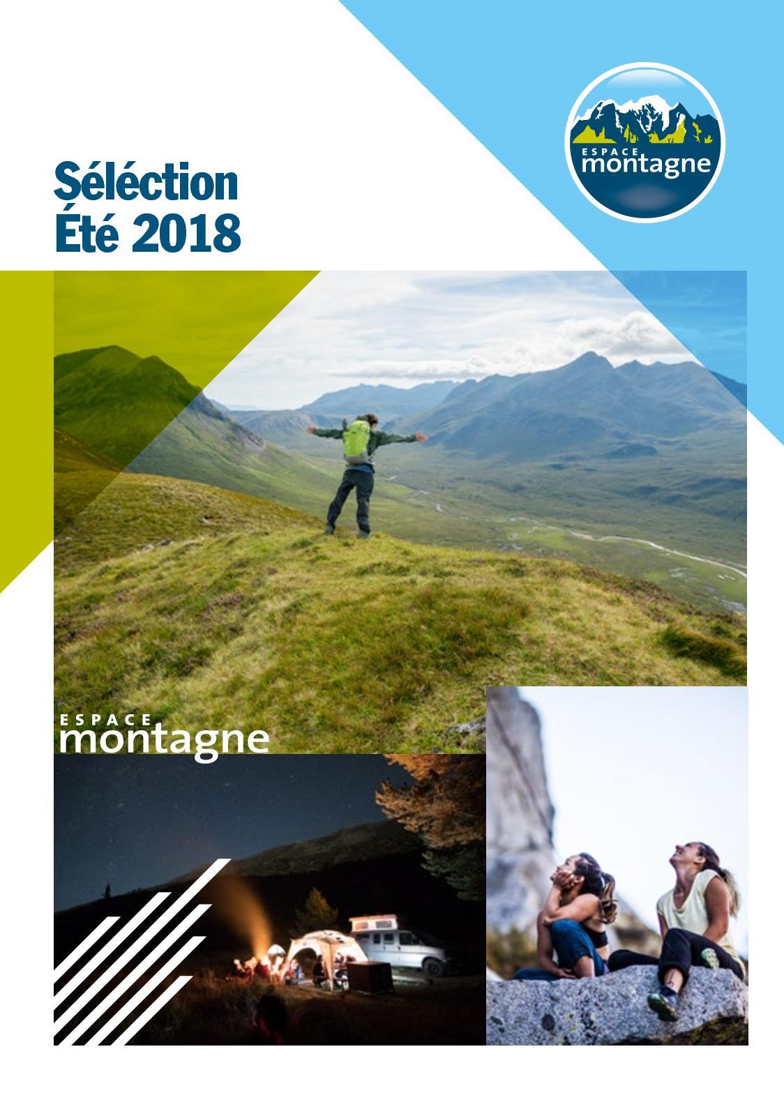 332d7469883 Calaméo - Catalogue Espace Montagne Été 2018
