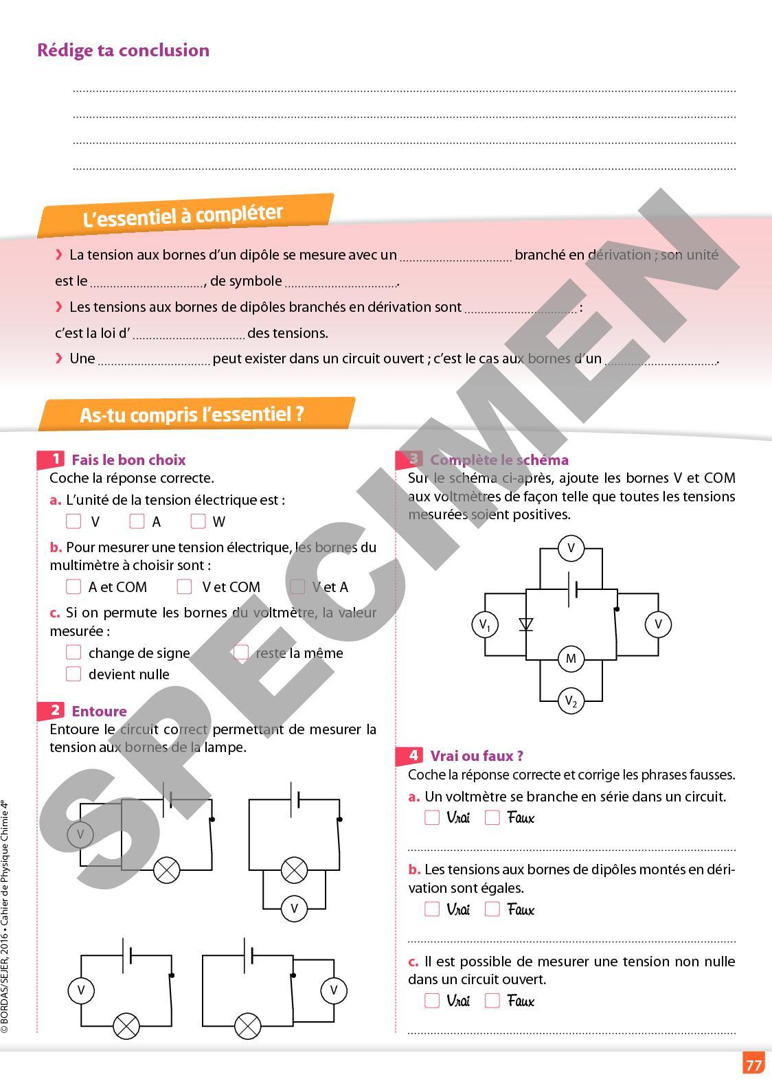 Regaud Vento 4e Cahier Dactivits Calameo Downloader Schma Lectrique Wiring Diagram Explication Solution Le Page 79