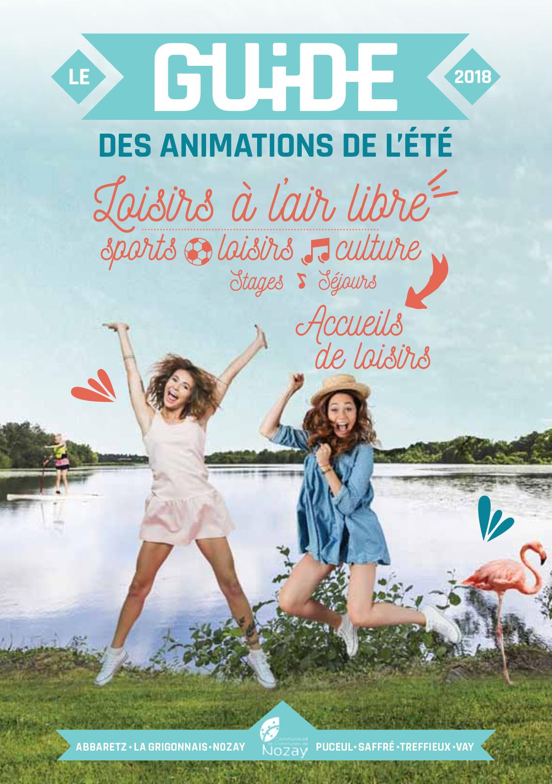Guide des animations de l'été 2018