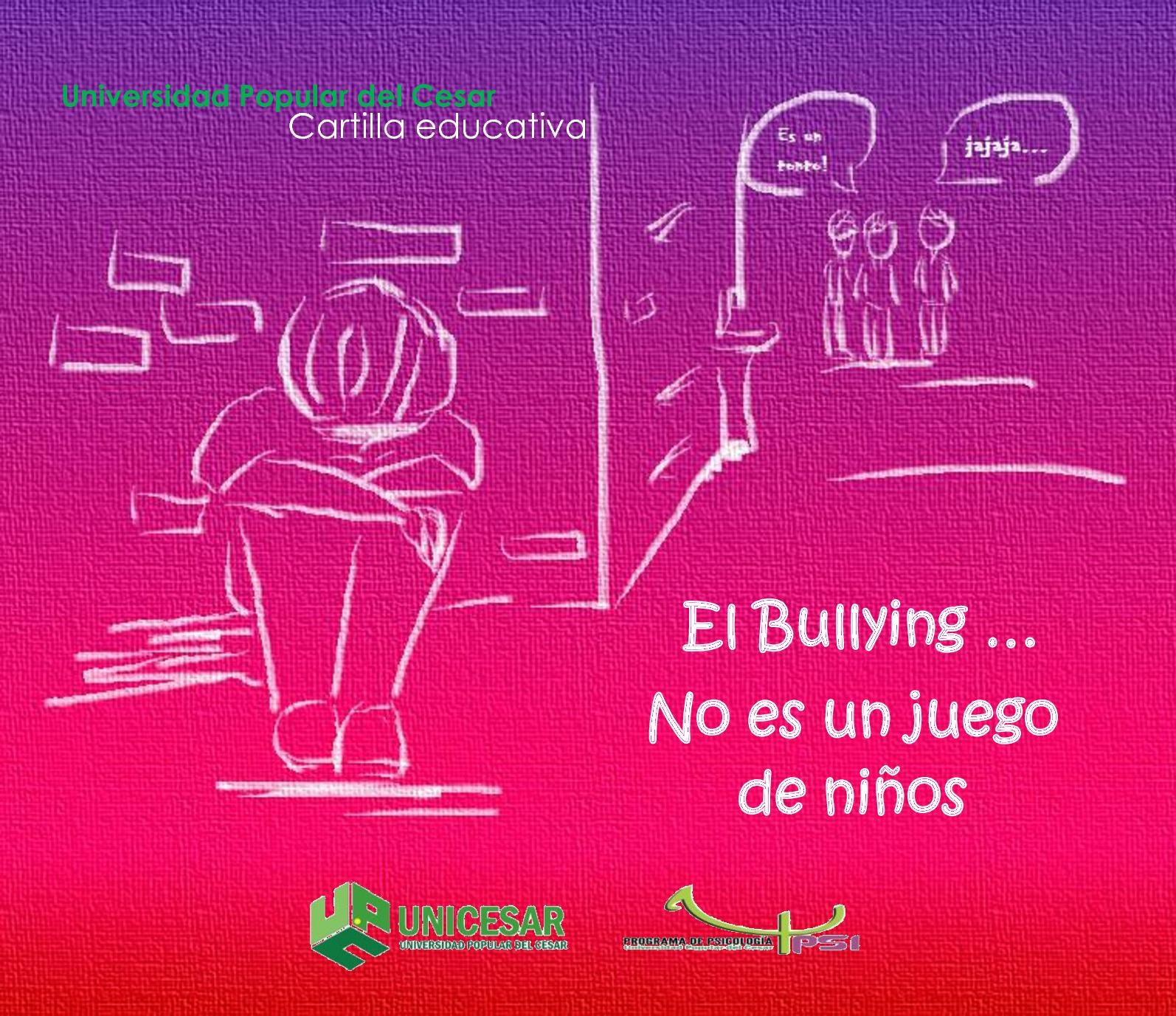 Cartilla Bullying Horizontal