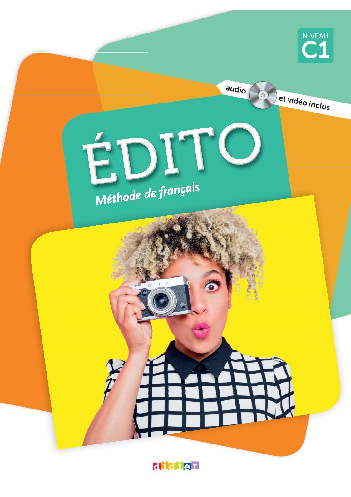 Edito C1 - extrait Livre élève