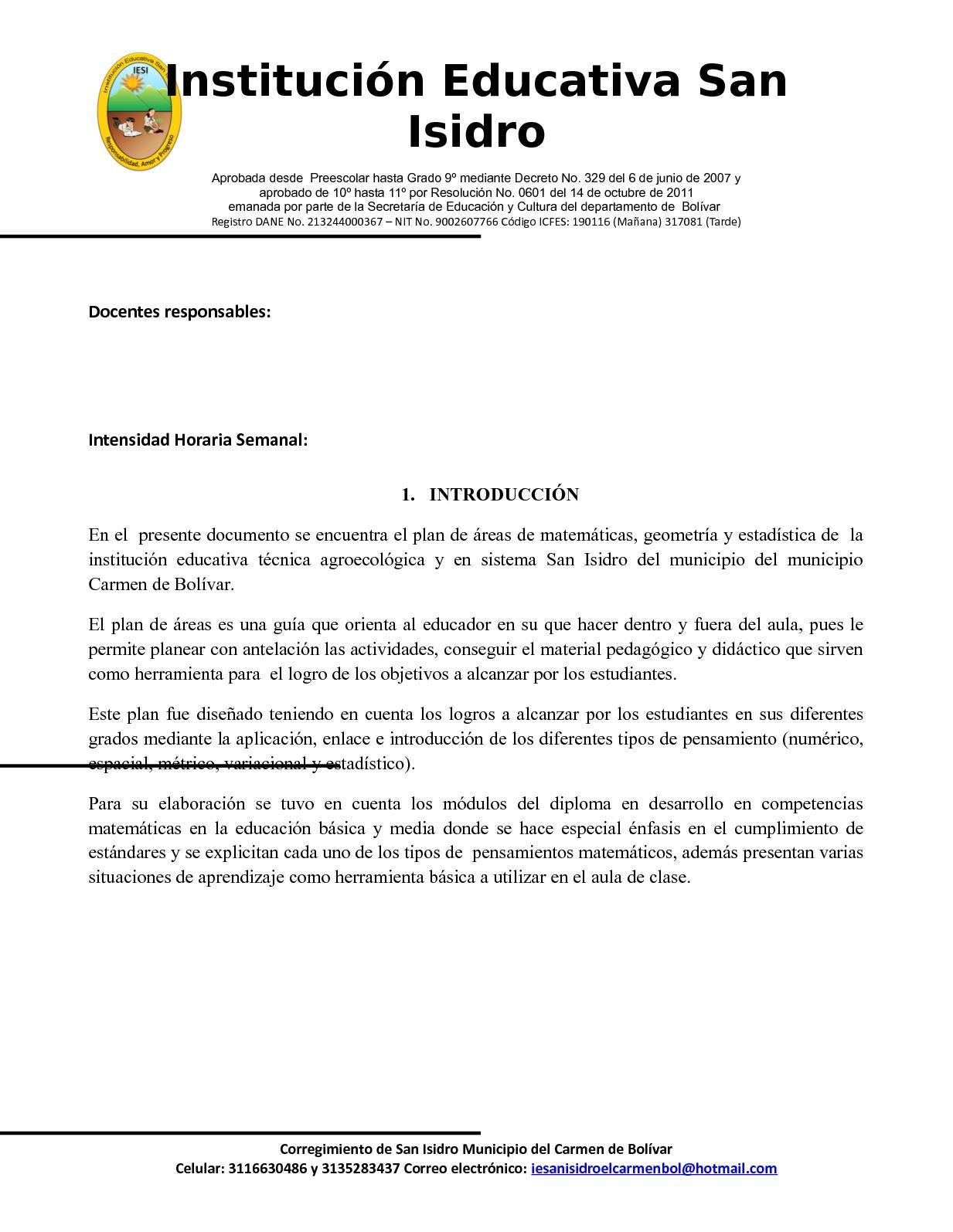 f15ffb46e13 Esquema Plan De Area Matematica Iesi 2018 - CALAMEO Downloader