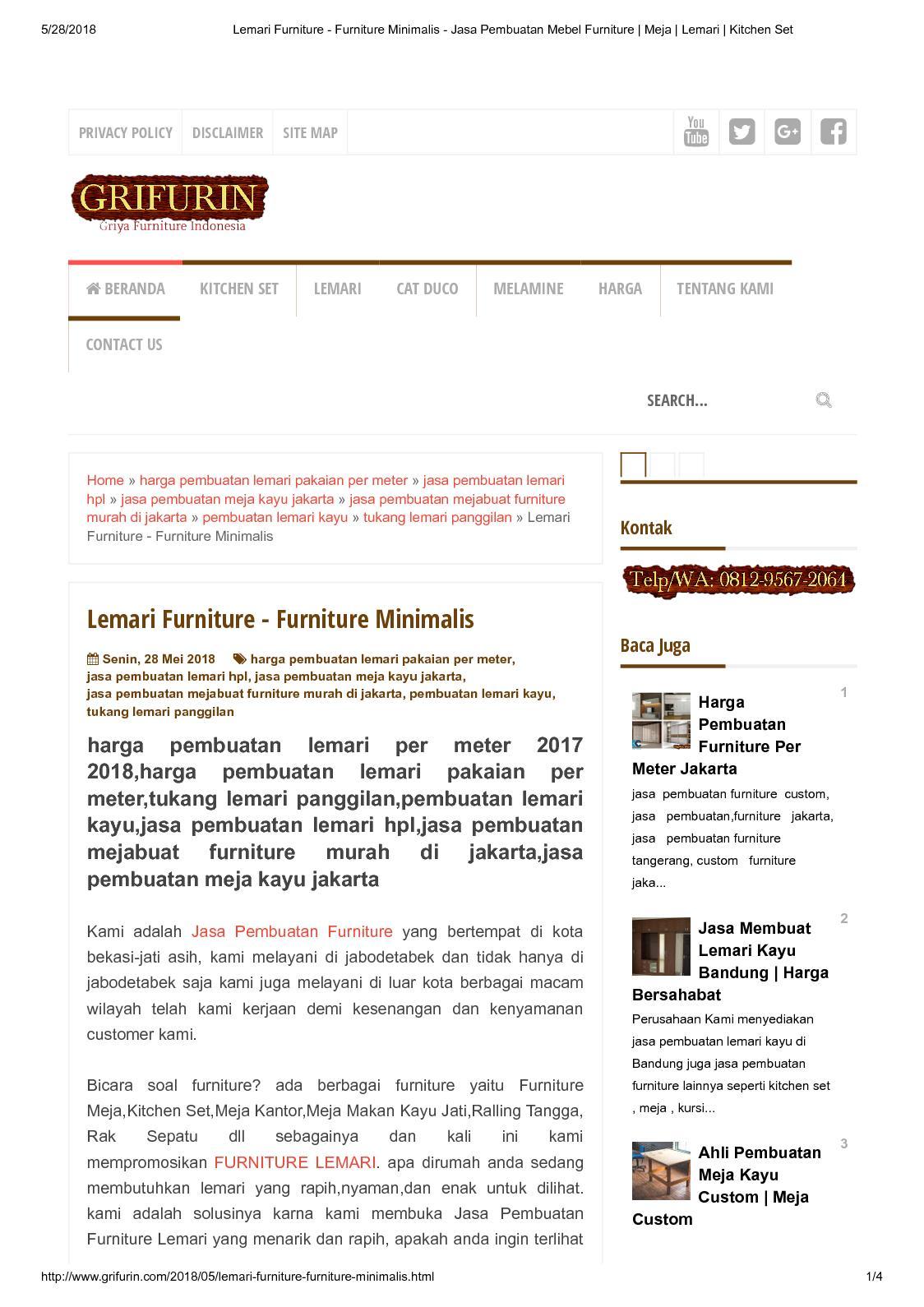 Calaméo lemari furniture furniture minimalis