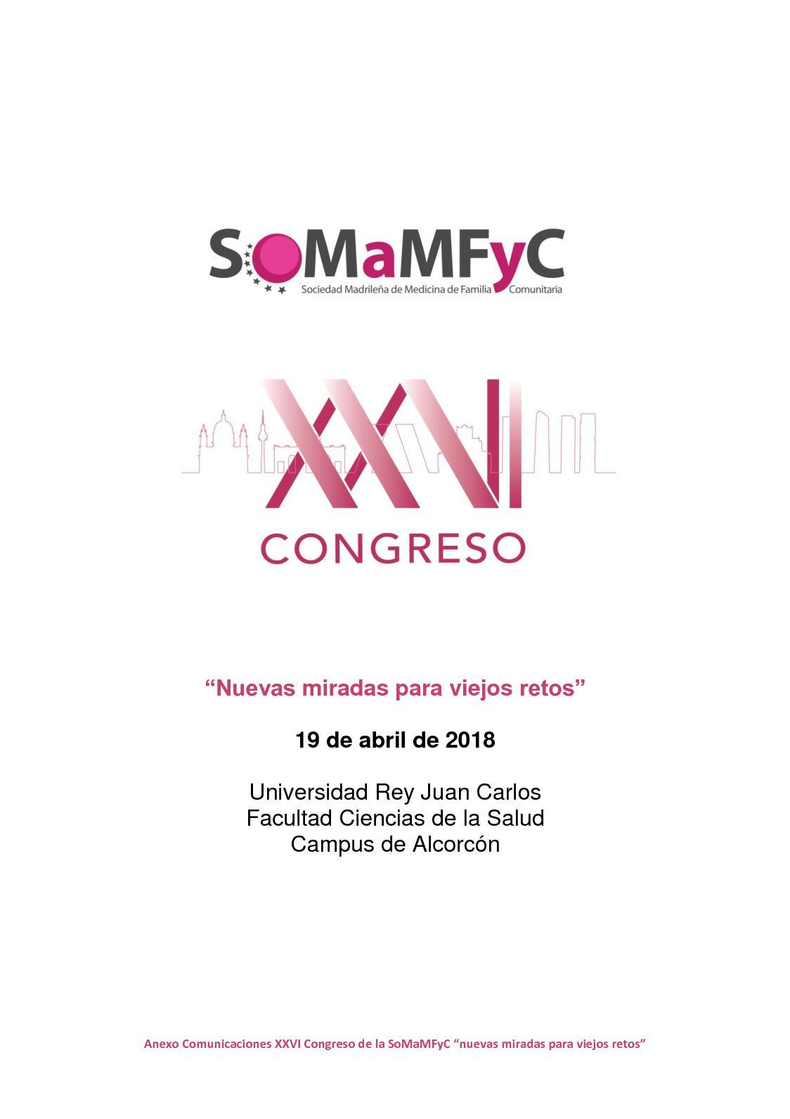 Calaméo - Anexo Revista XXVI Congreso de la SoMaMFyC