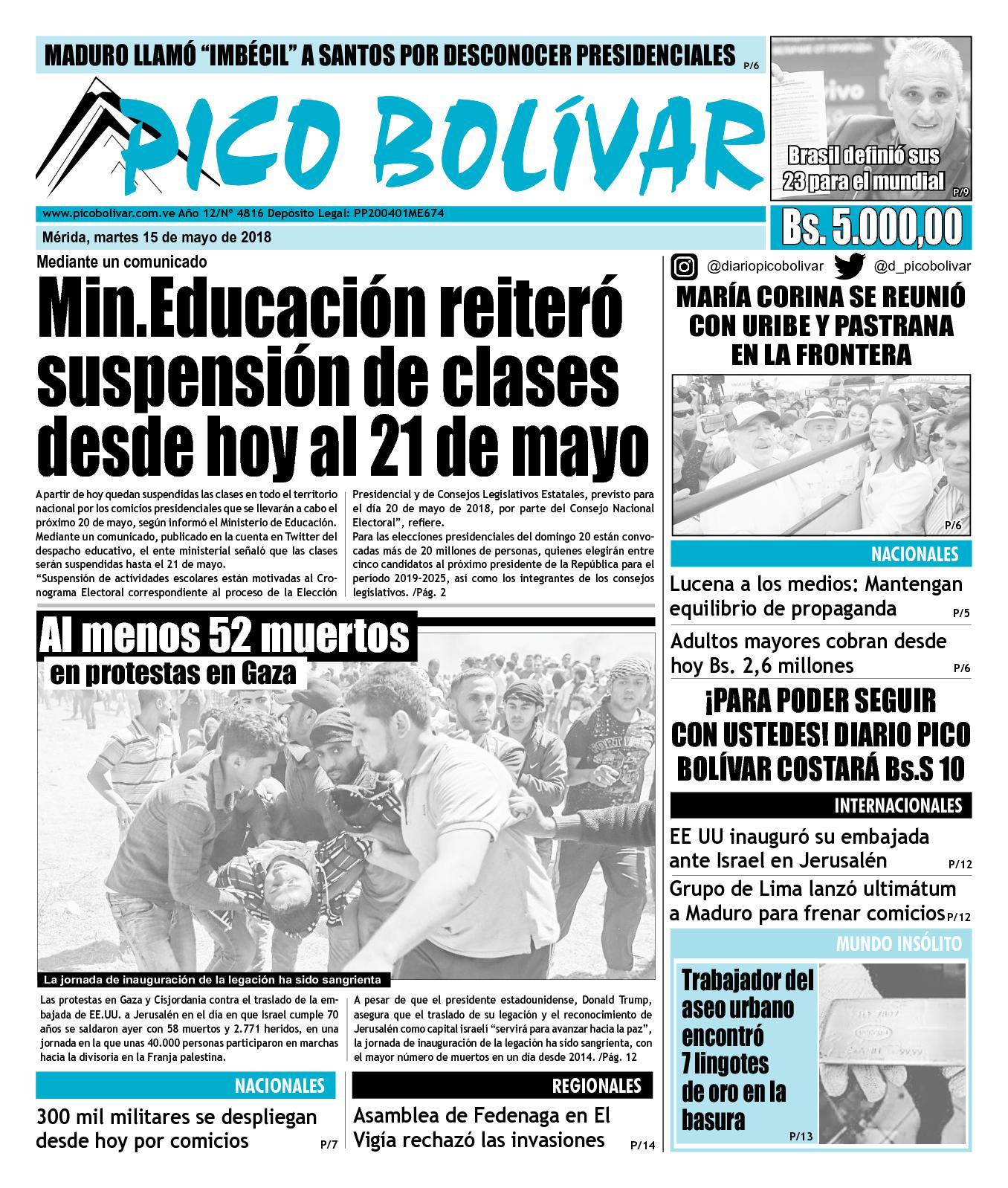 Calaméo - Diario 15/05/2018