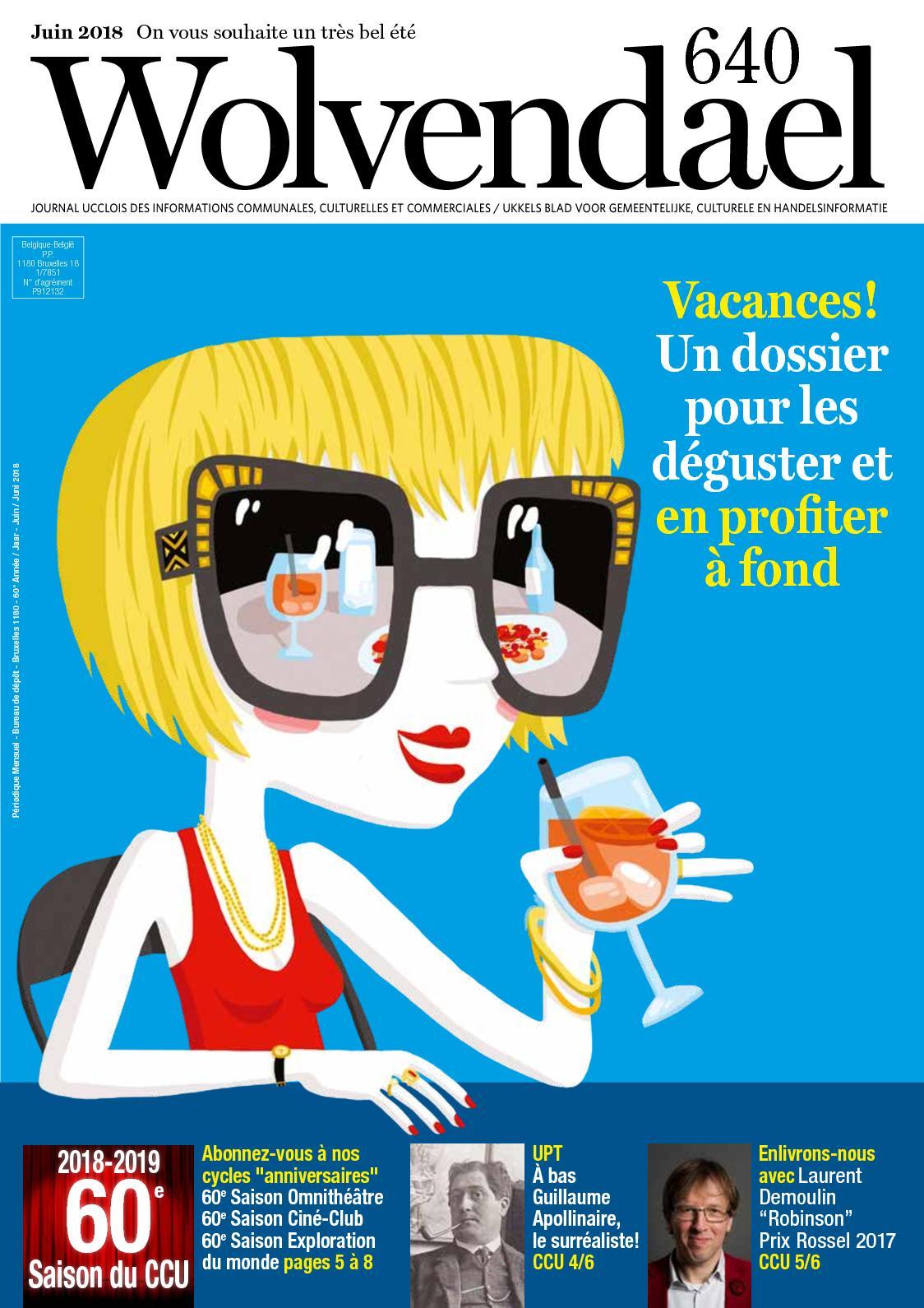 Calaméo - Wolvendael magazine n° 640 juin 2018 b1587bfc6ede