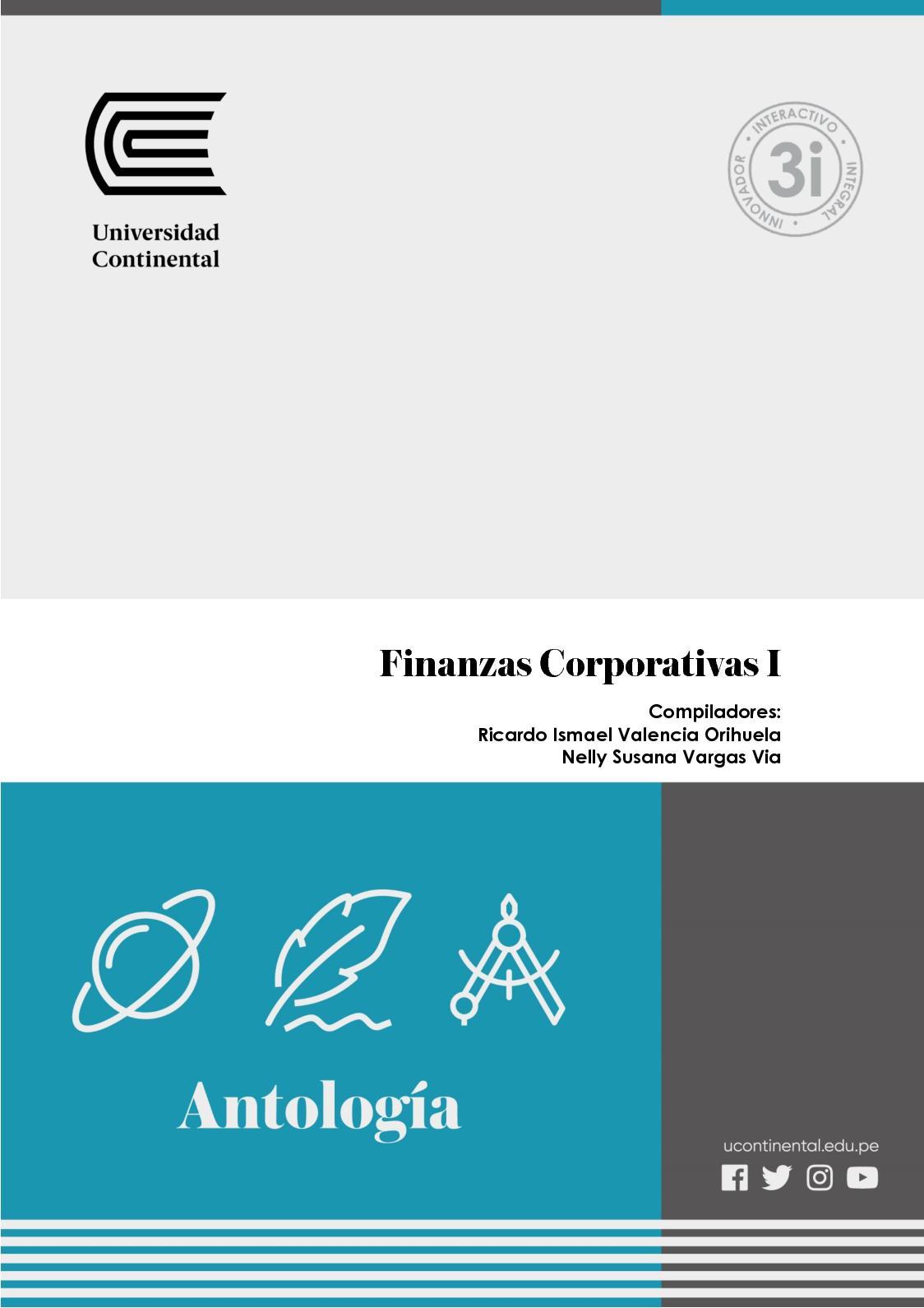 Finanzas Corporativas Uc0341 Antologia