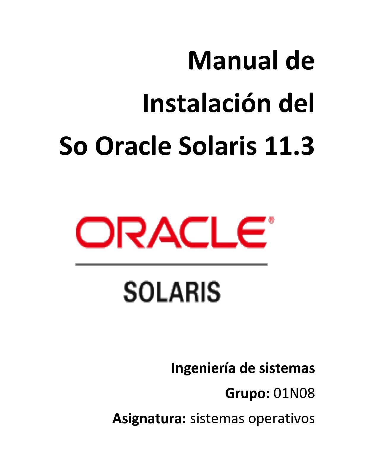 Solaris OS