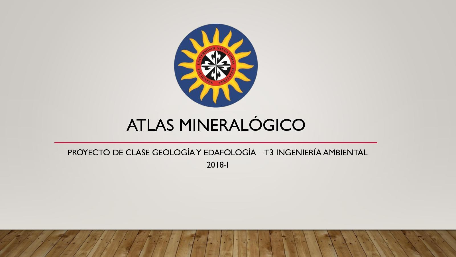 Atlas Mineralógico Ambiental