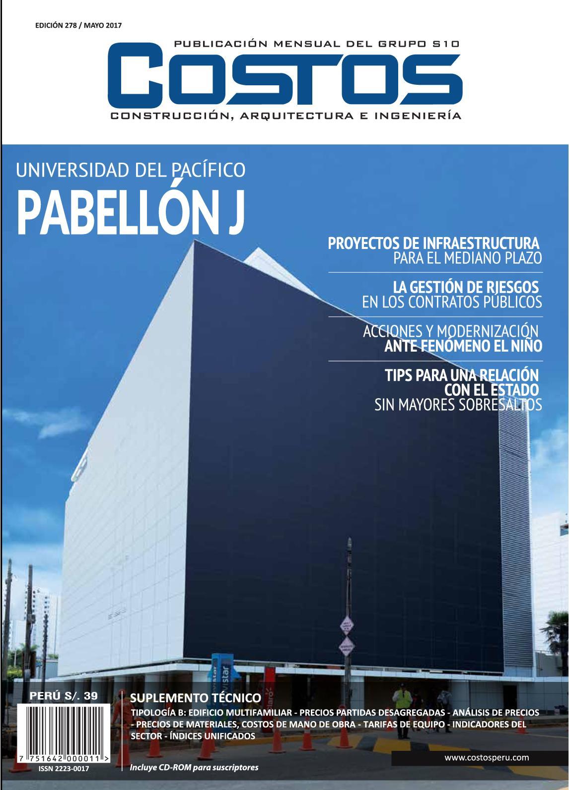 Calaméo - Revista Costos Ed 278 Mayo 2017
