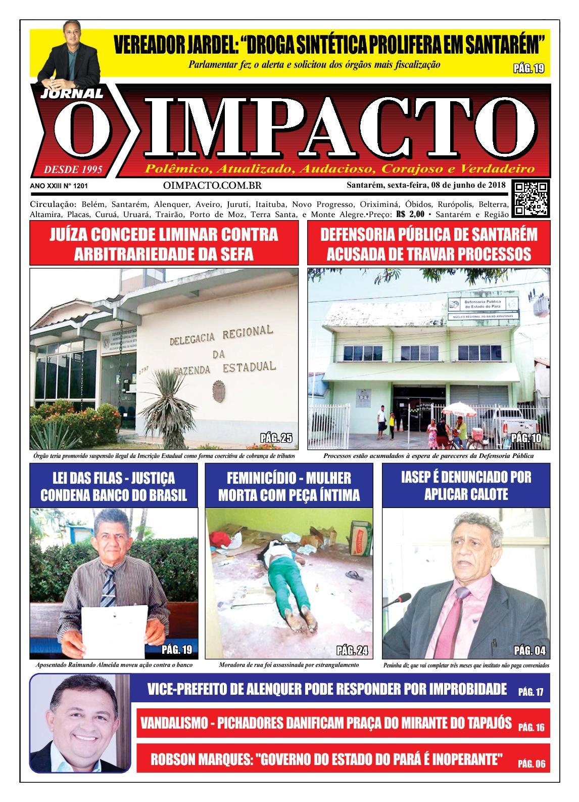 Calaméo - Jornal O Impacto Ed. 1201 16c2e7b75ba