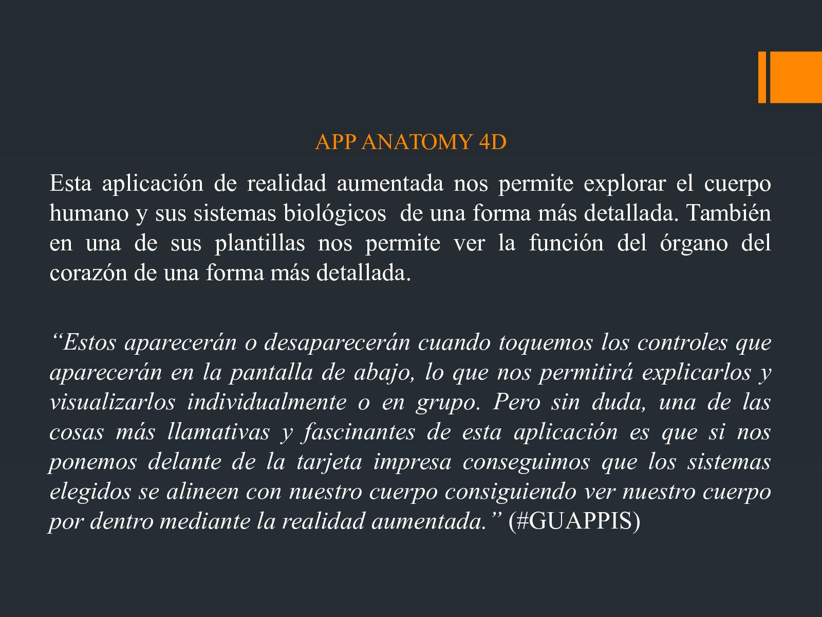 Calaméo - APP ANATOMY 4D