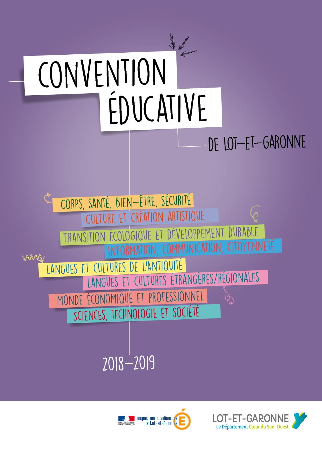 Convention Educative 2018-2019