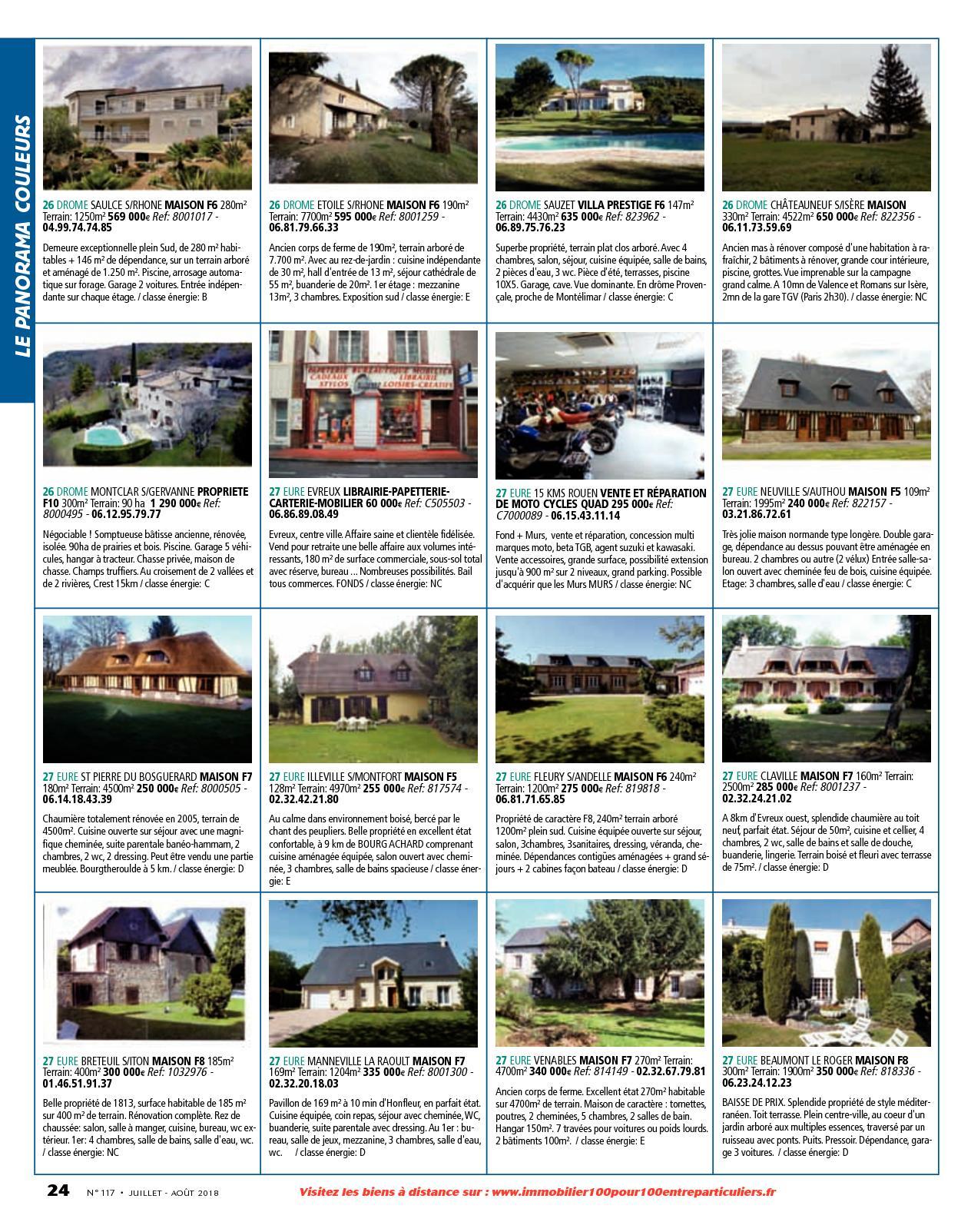 L Immobilier 100 Entre Particuliers N 117 Juillet Aout 2018