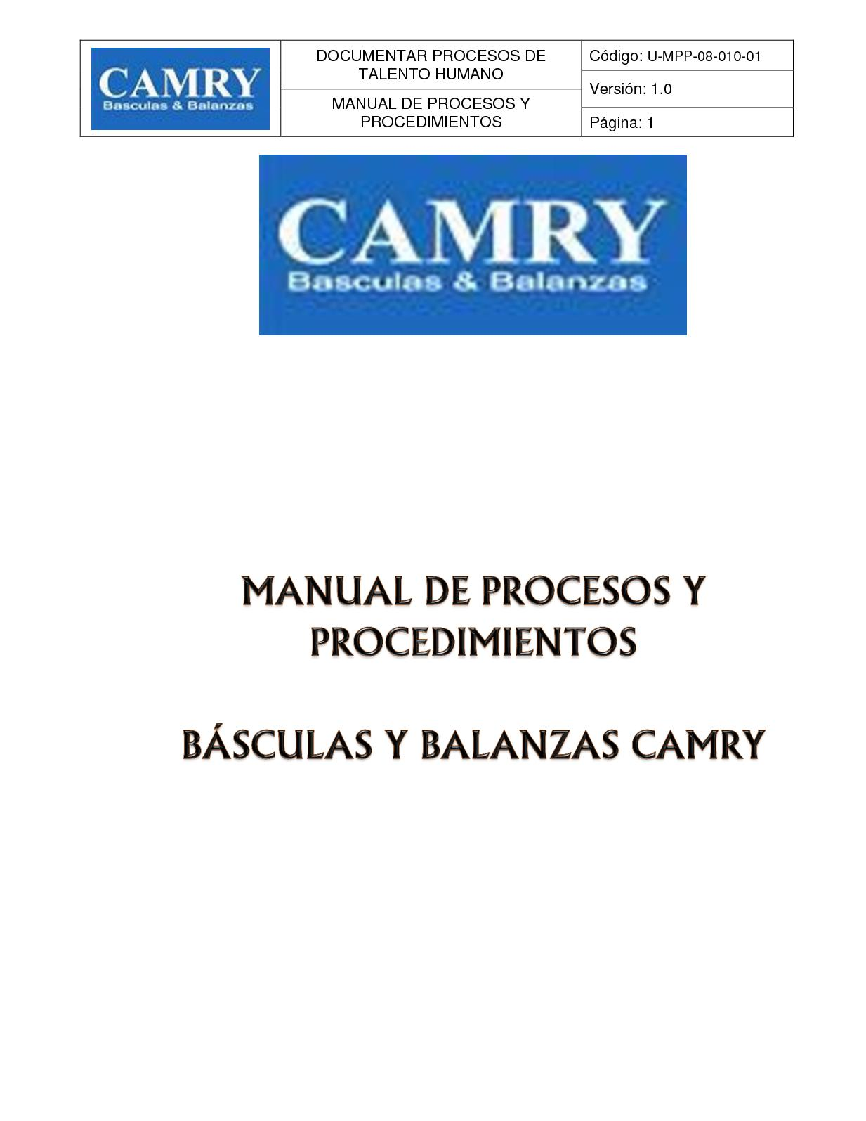 Calaméo - Entregable Manual De Procesos Y Procedimientos