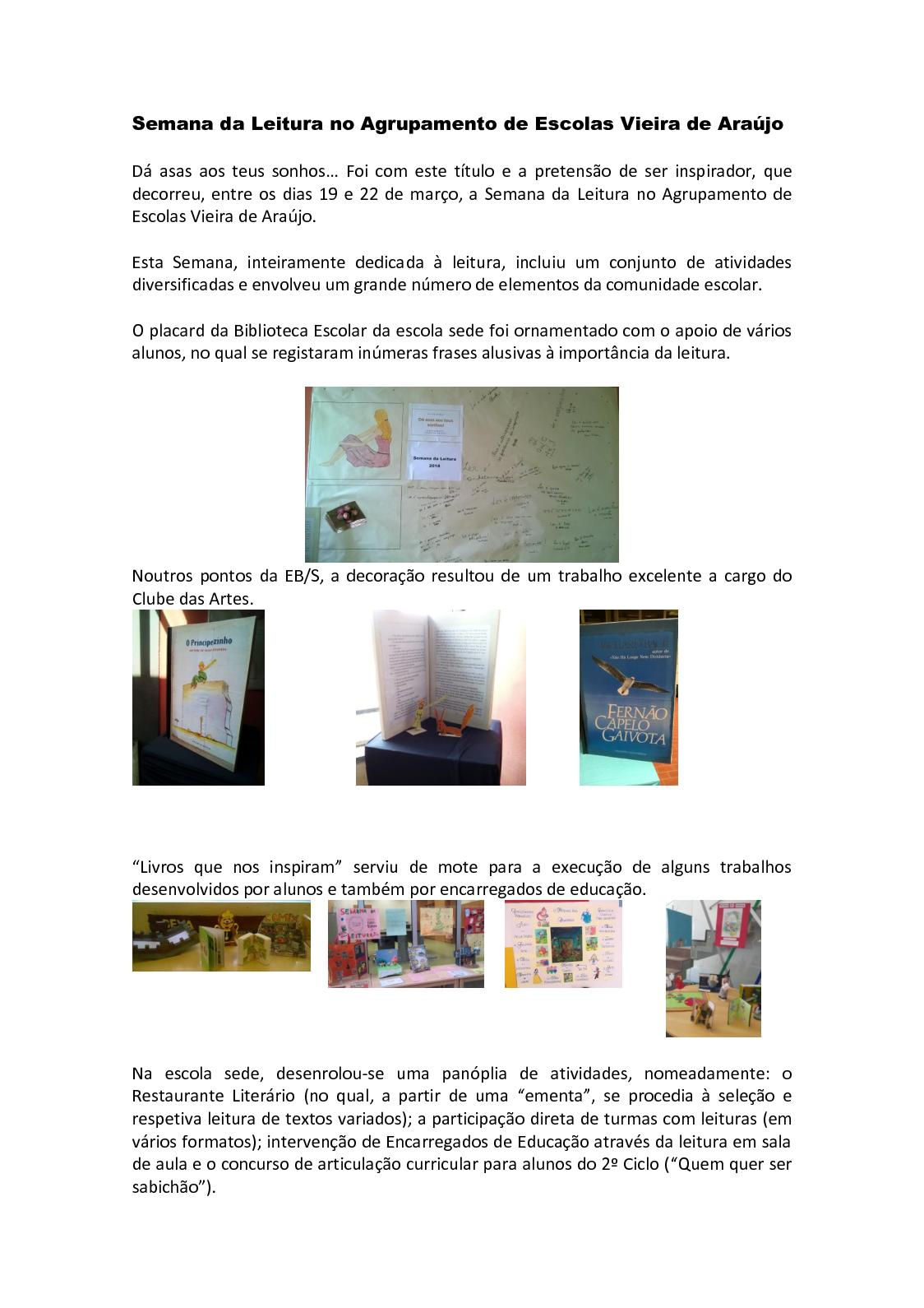 Calaméo Semana Da Leitura Março 2018