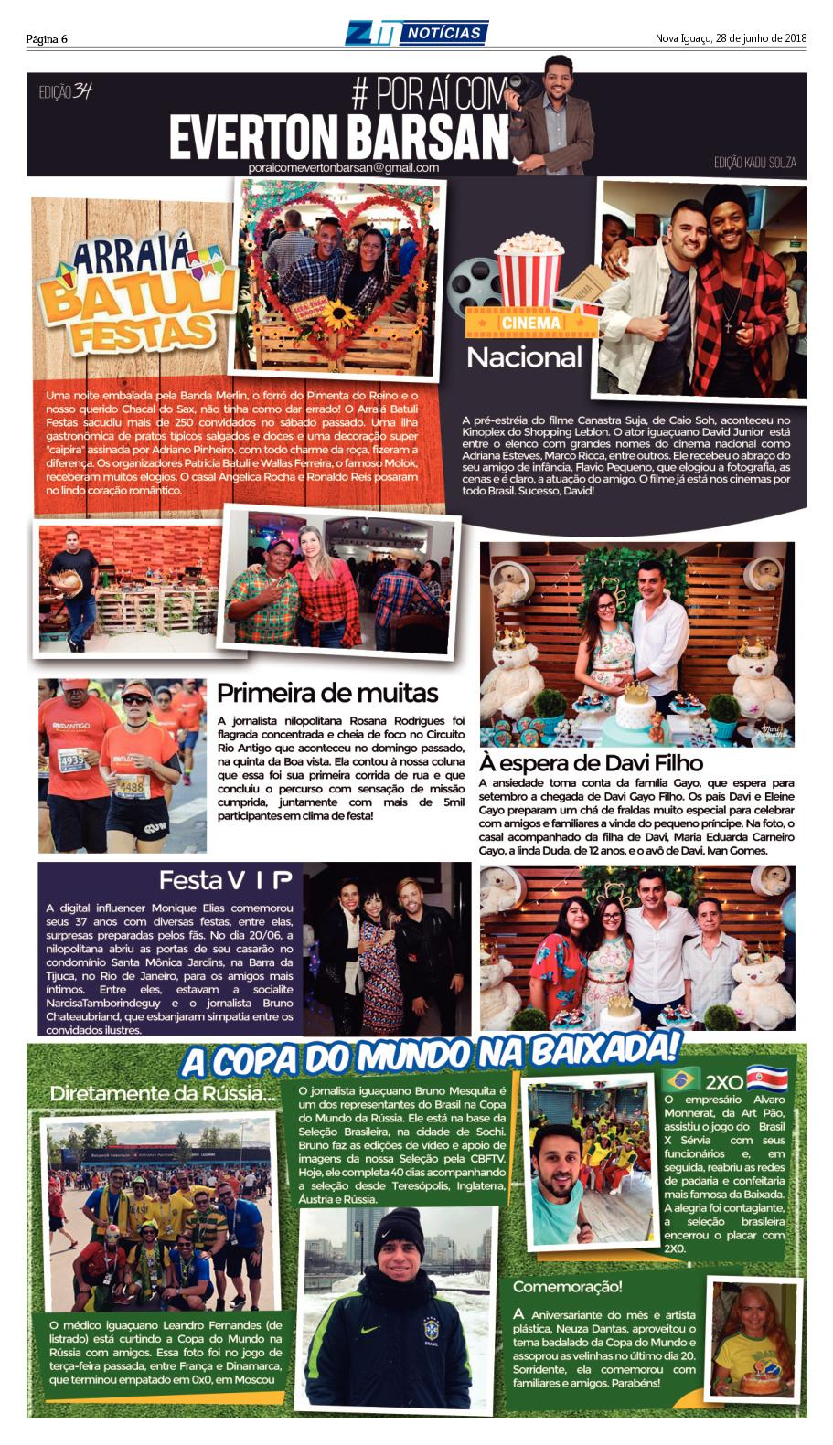 Circuito Rio Antigo : Zm noticias edição 280618 calameo downloader
