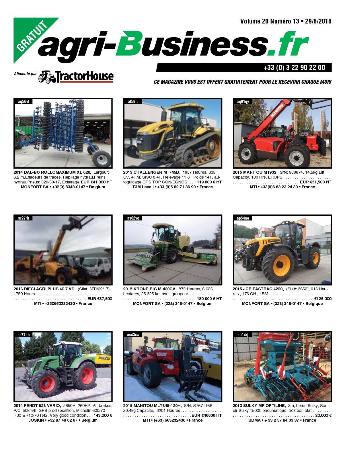 calaméo agri business volume 20 numÉro 13 29 06 2018