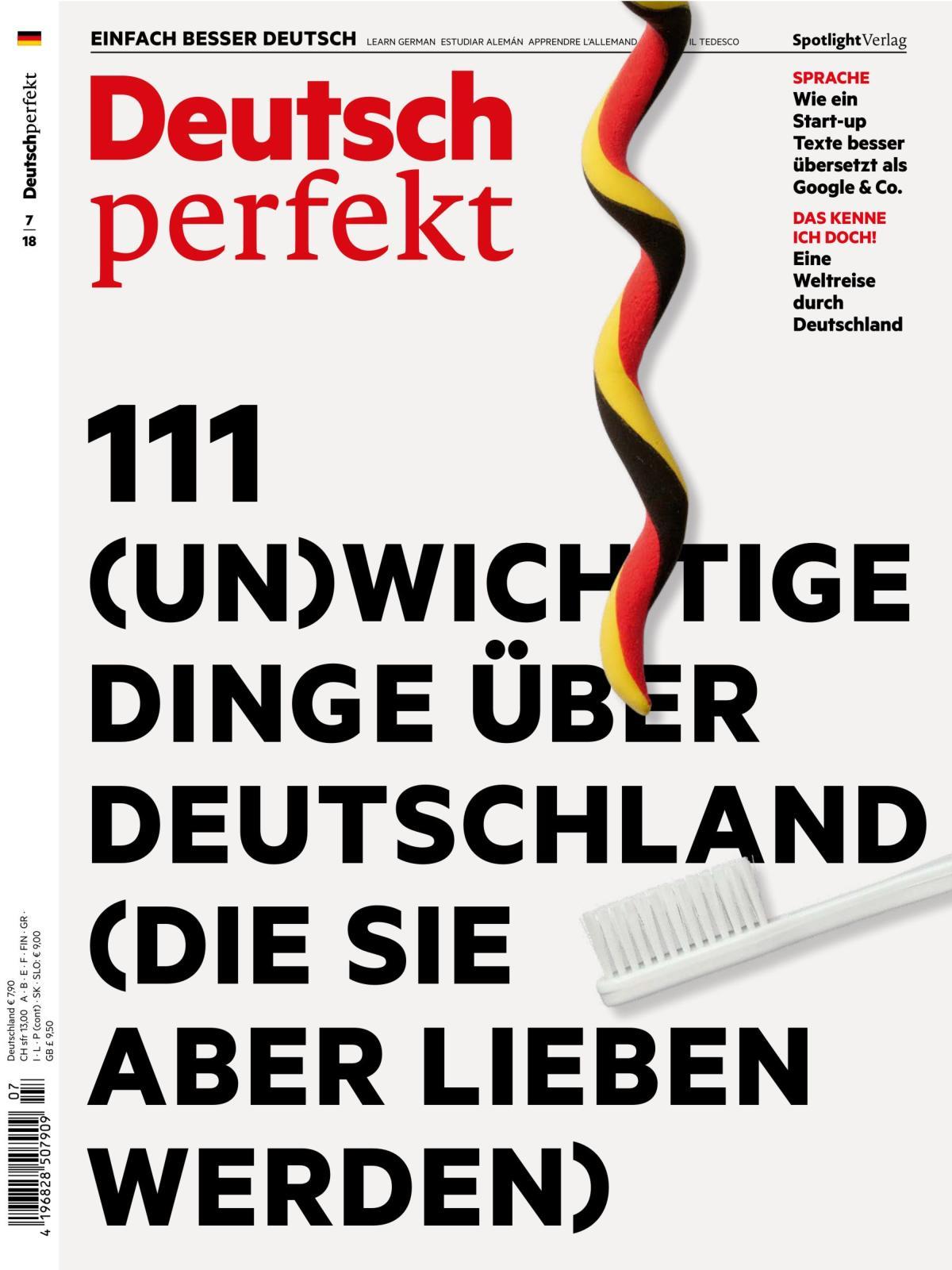 Deutsch Perfekt 07 2018