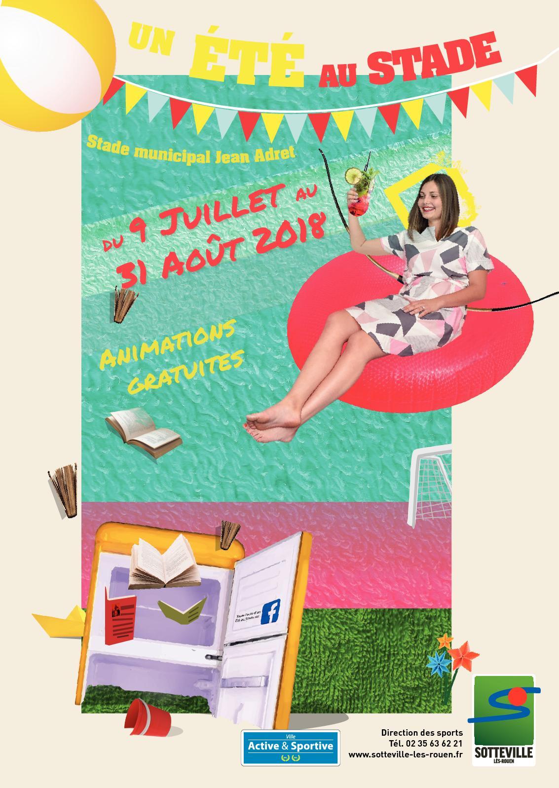 Programme Un Été Au Stade 2018