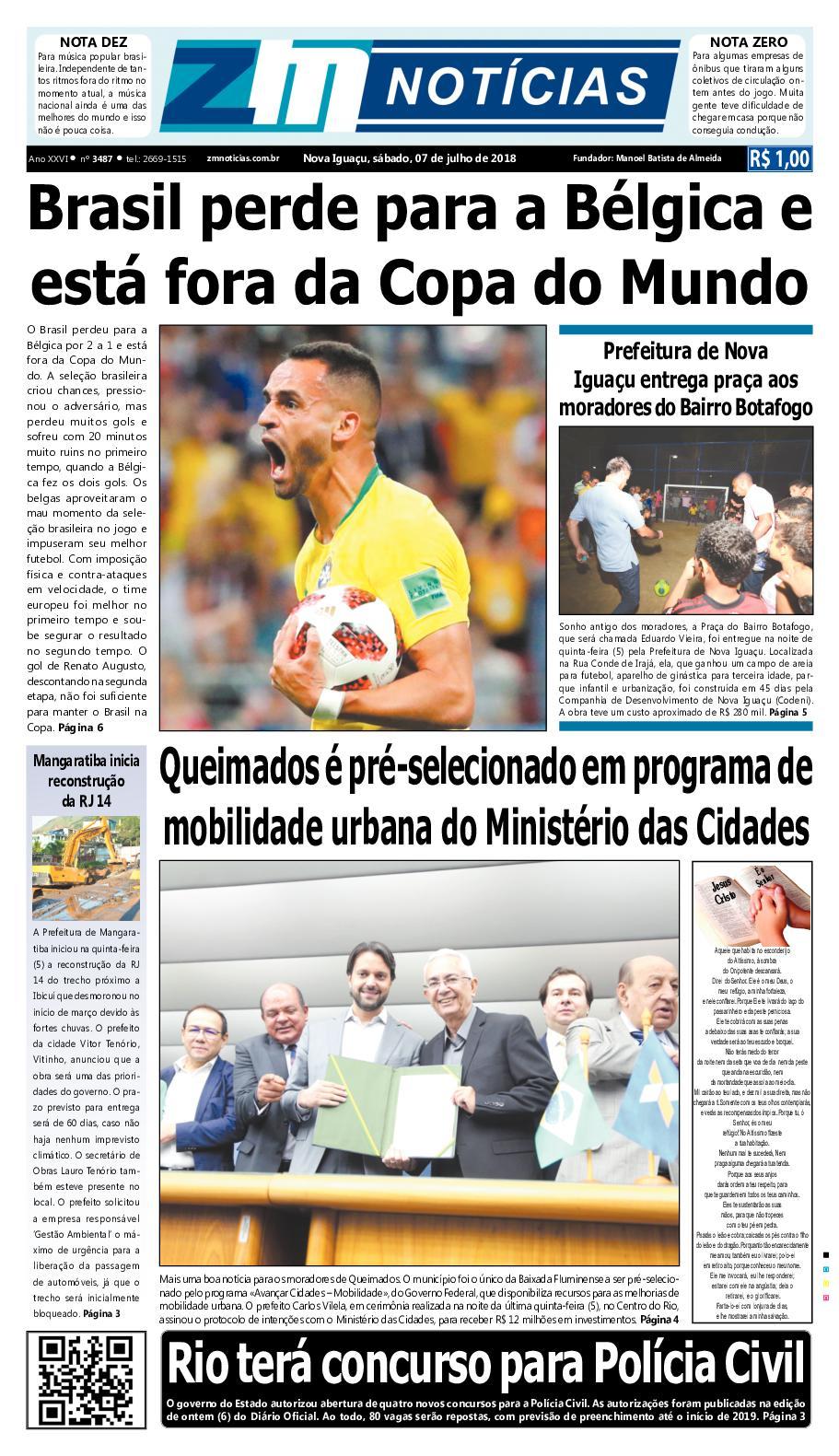 ZM Noticias - Edição 070718