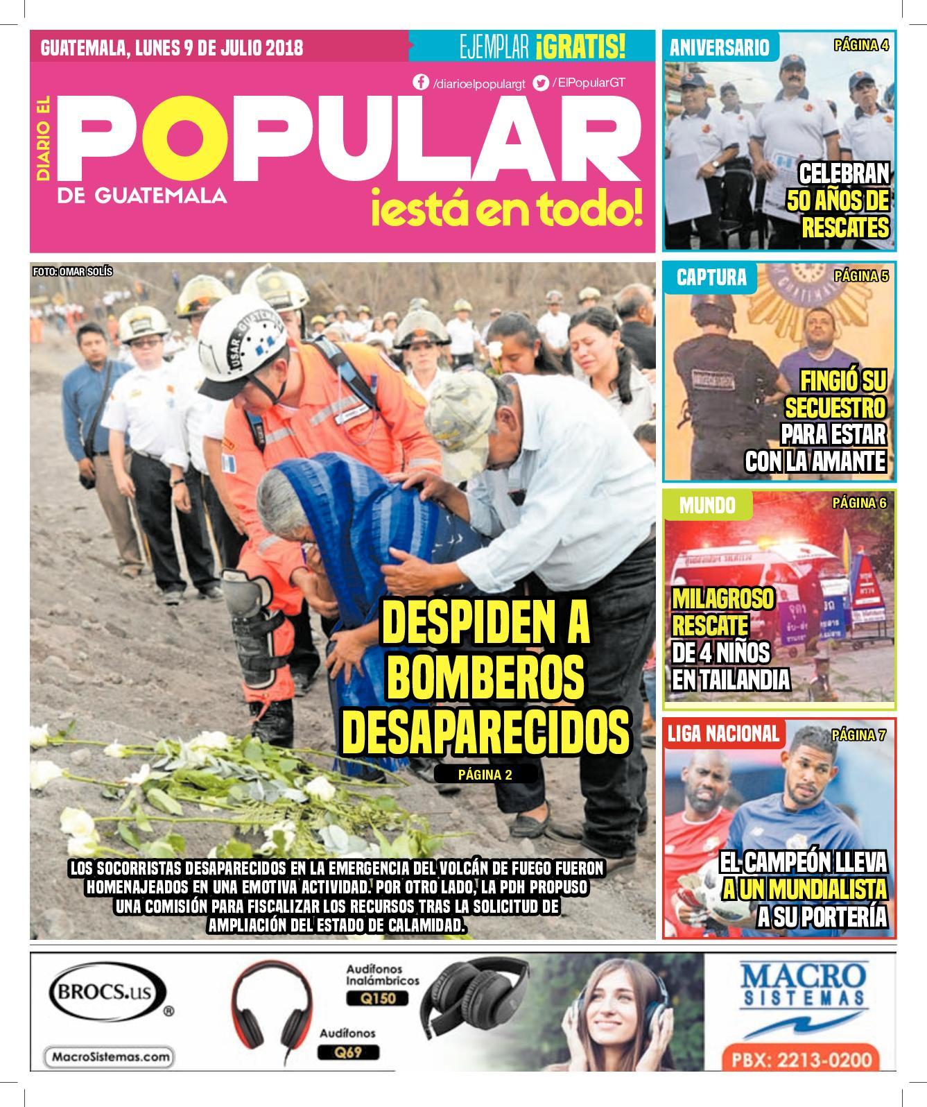 EL POPULAR GUATEMALA 09072018