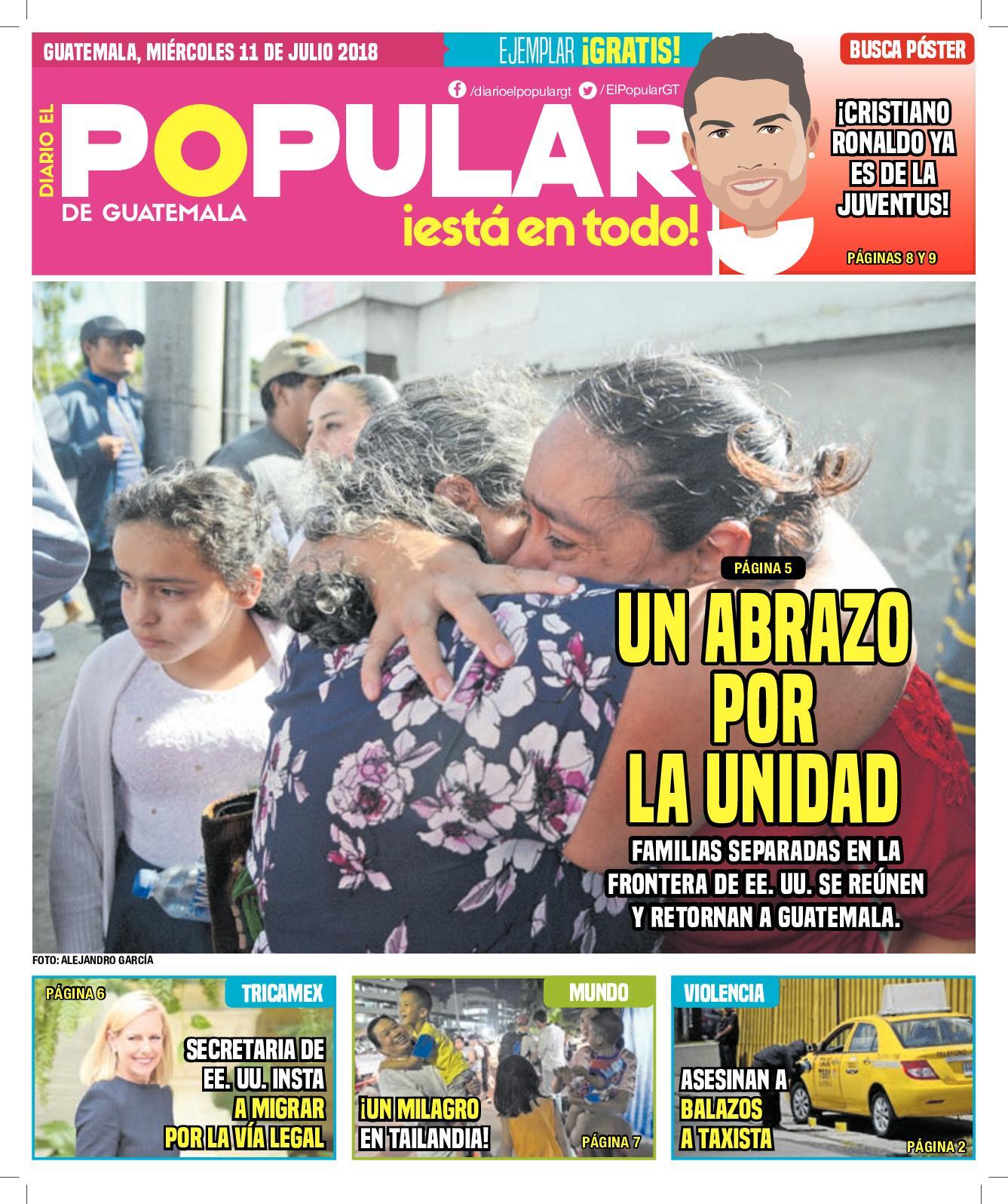 EL POPULAR GUATEMALA 11072018