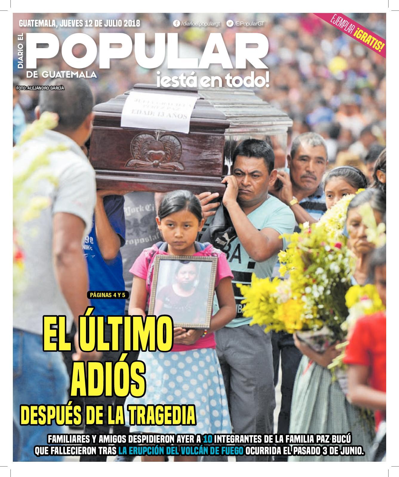 EL POPULAR GUATEMALA 12072018