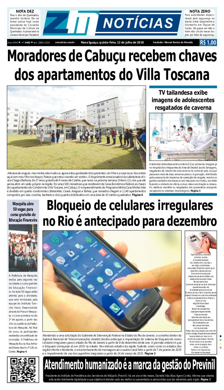 ZM Noticias - Edição 120718