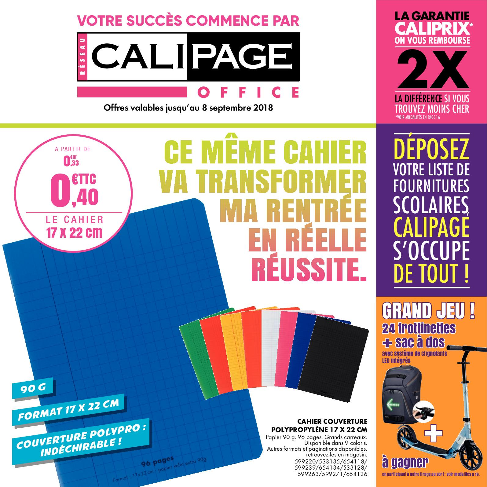 Flyer Aout 2018 - Calipage