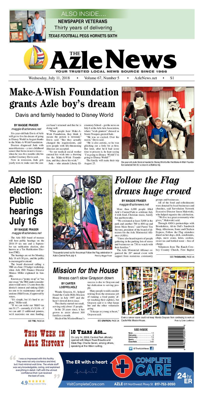 Calaméo - The Azle News