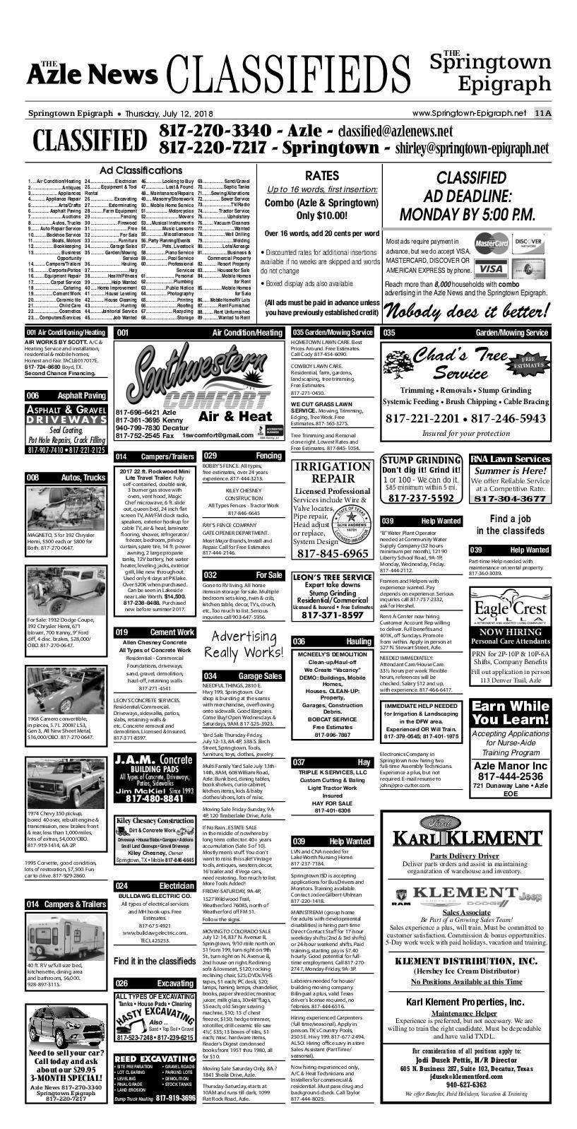 Springtown classifieds