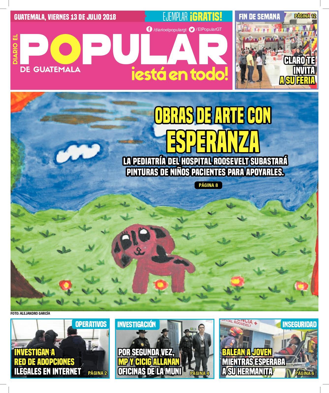EL POPULAR GUATEMALA 13072018
