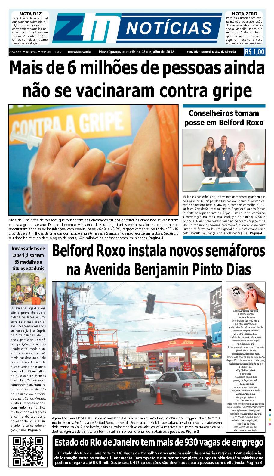ZM Noticias - Edição 130718