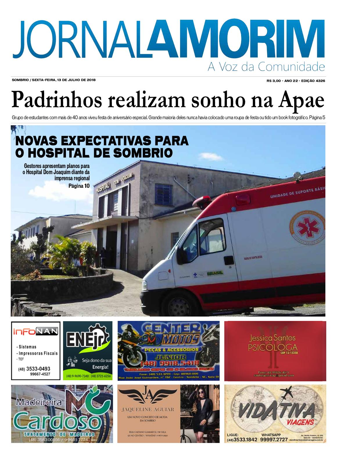 Jornal Amorim 13-07-18