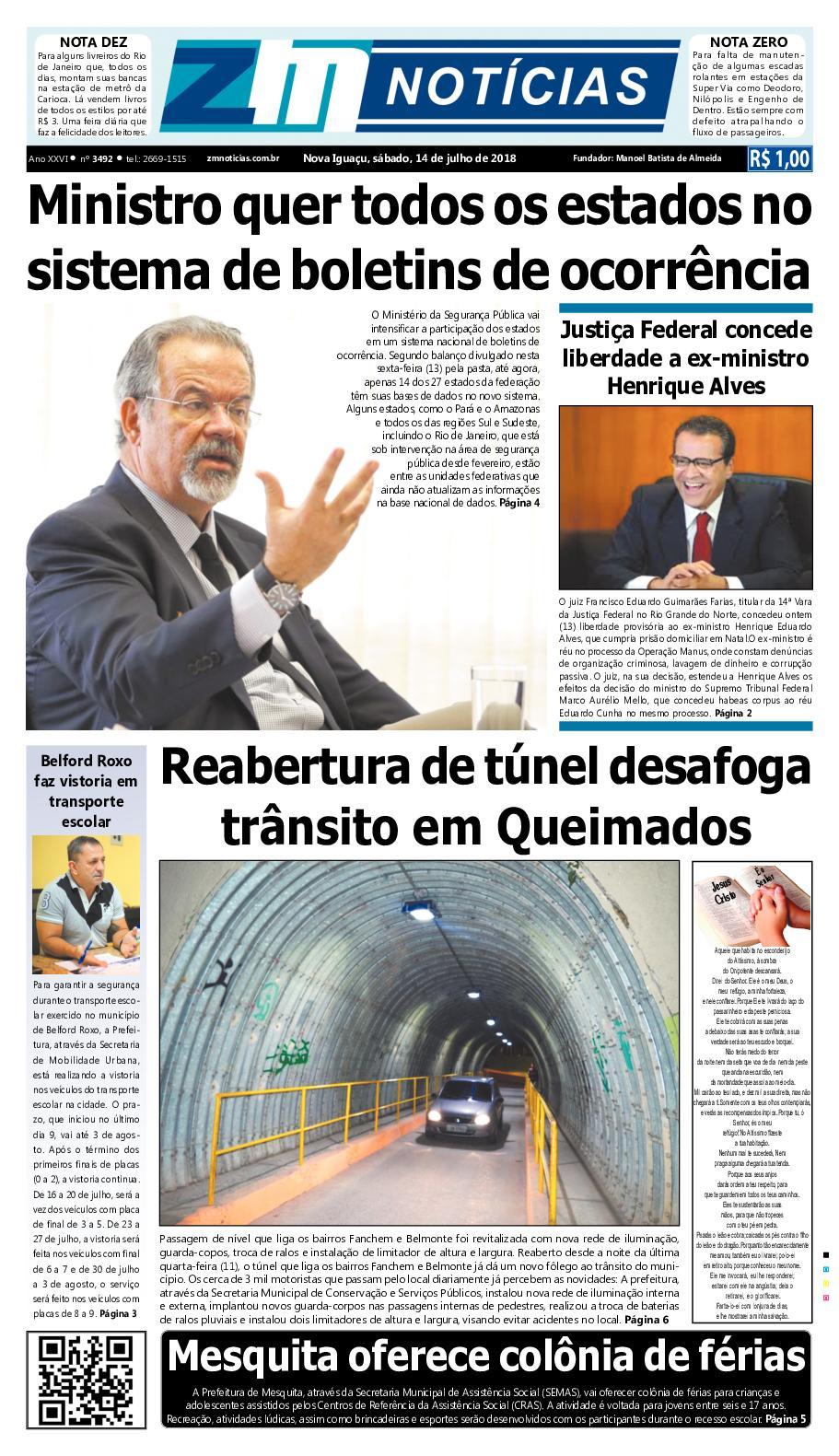 ZM Noticias - Edição 140718