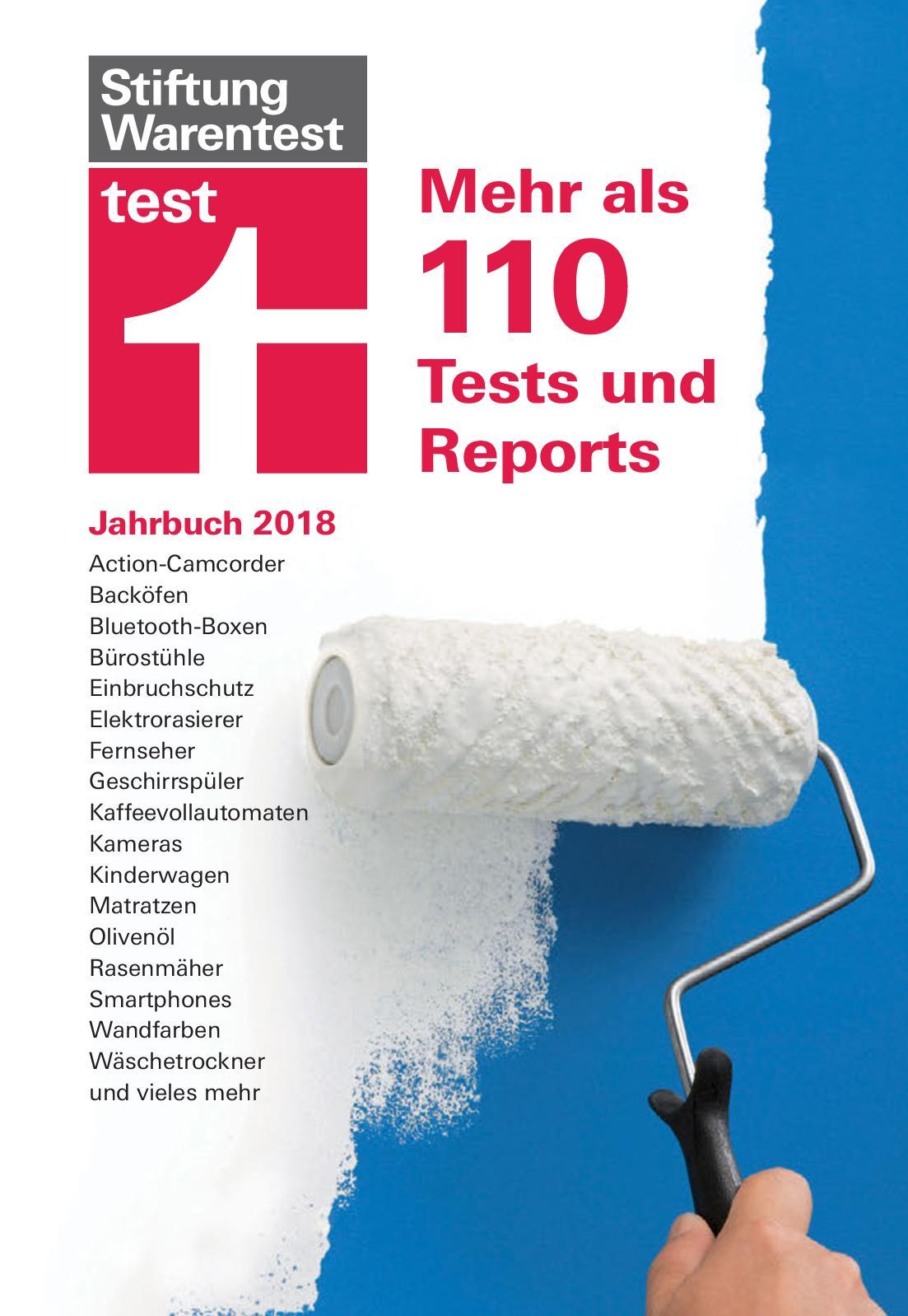 Calaméo   Test Jahrbuch 2018   Mehr Als 110 Tests Und Reports