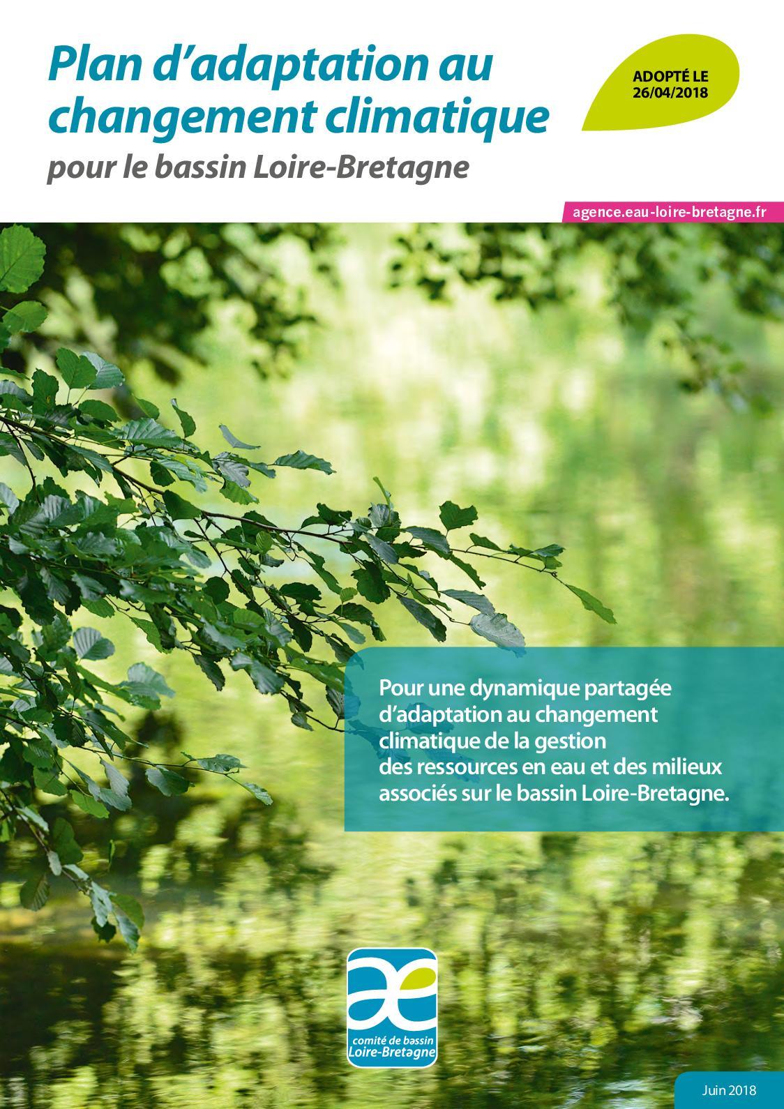 Calaméo   Plan Du0027adaptation Au Changement Climatique Pour Le Bassin  Loire Bretagne