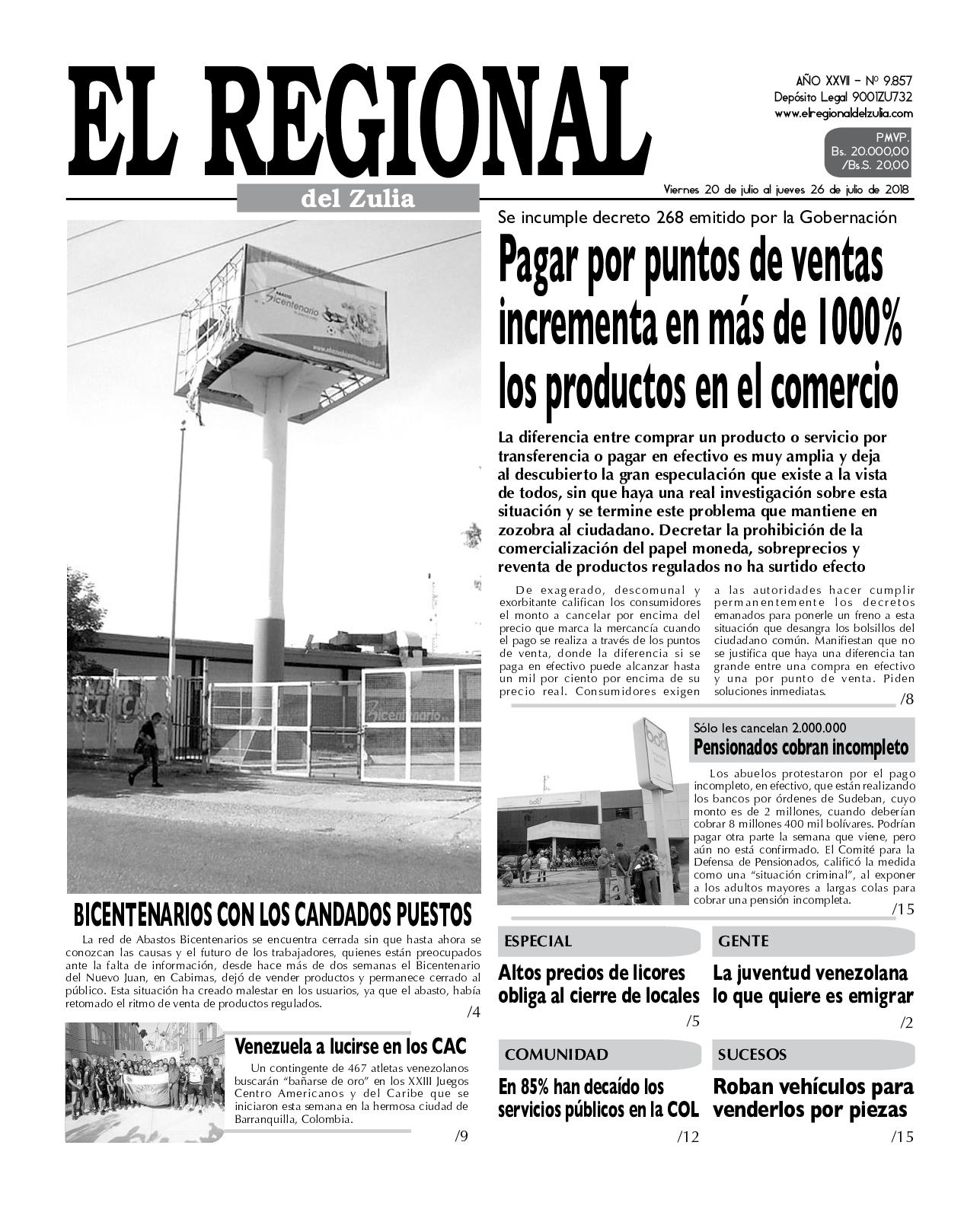 Calaméo - El Regional del Zulia 20-07-2018