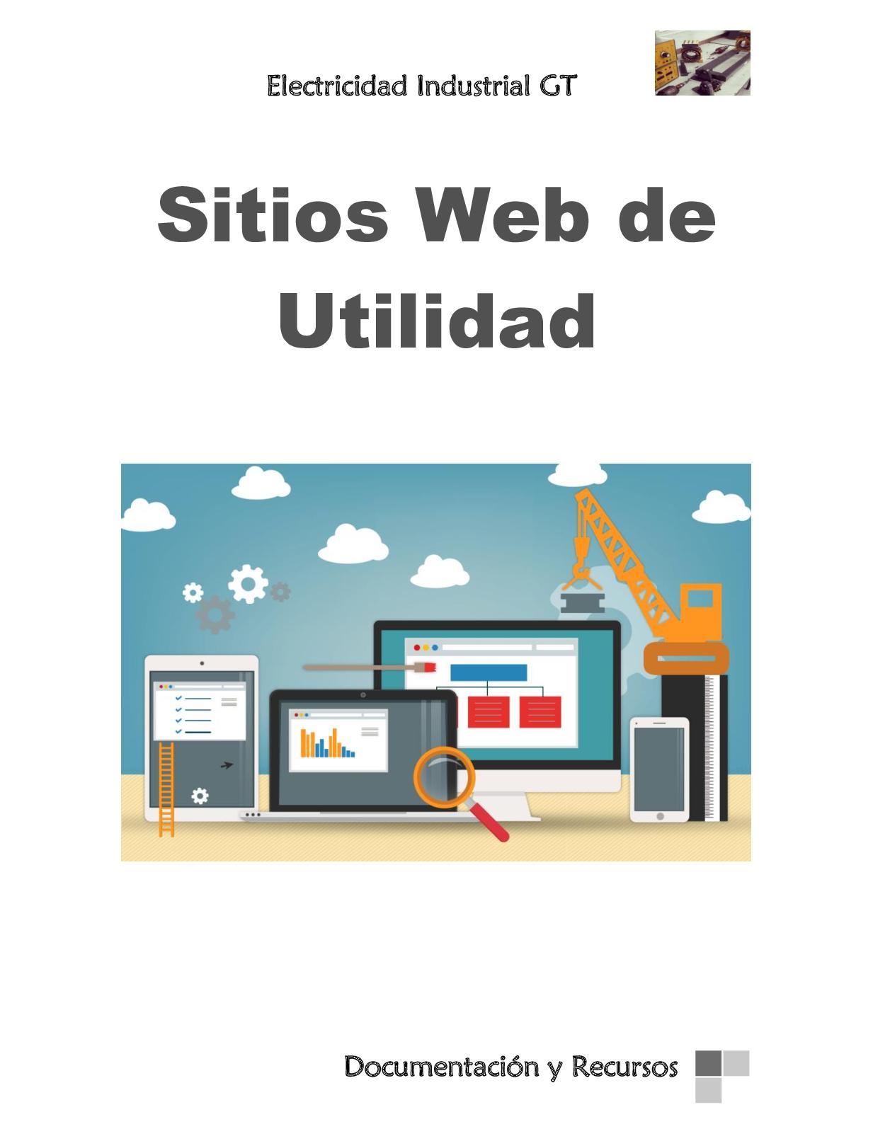 Eléctricidad Industrial GT- Sitios Web de Utilidad