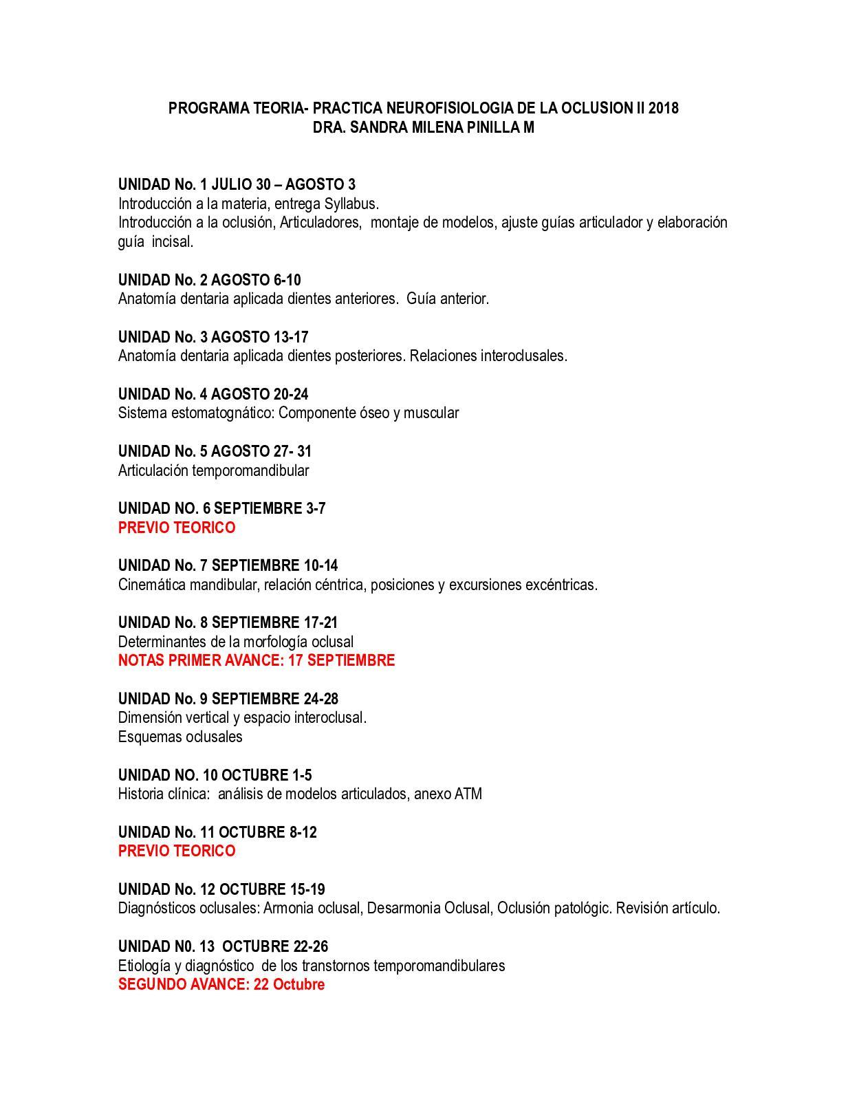 Calaméo - 2018 Programa Teoria Practica Nerurofisiologia