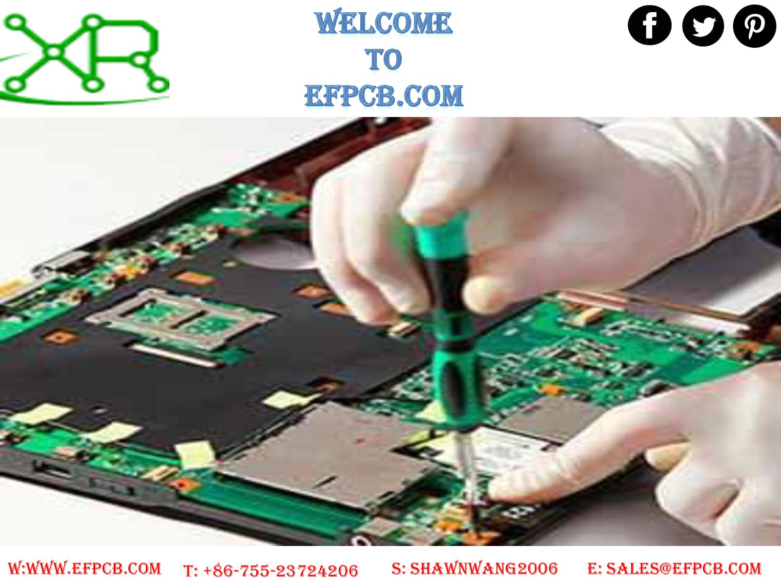 Calamo Hdi Microvia Pcb At Efpcb Fr4 Circuit Board Led Aluminum Mobile Phone Motherboard Electronic