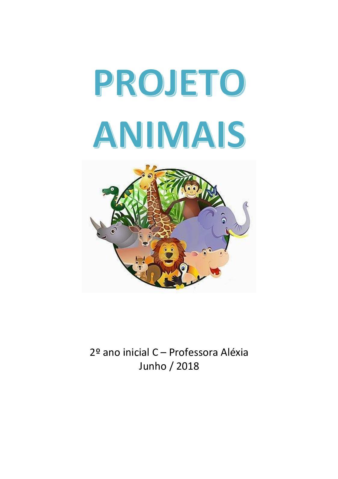 Projeto Animais