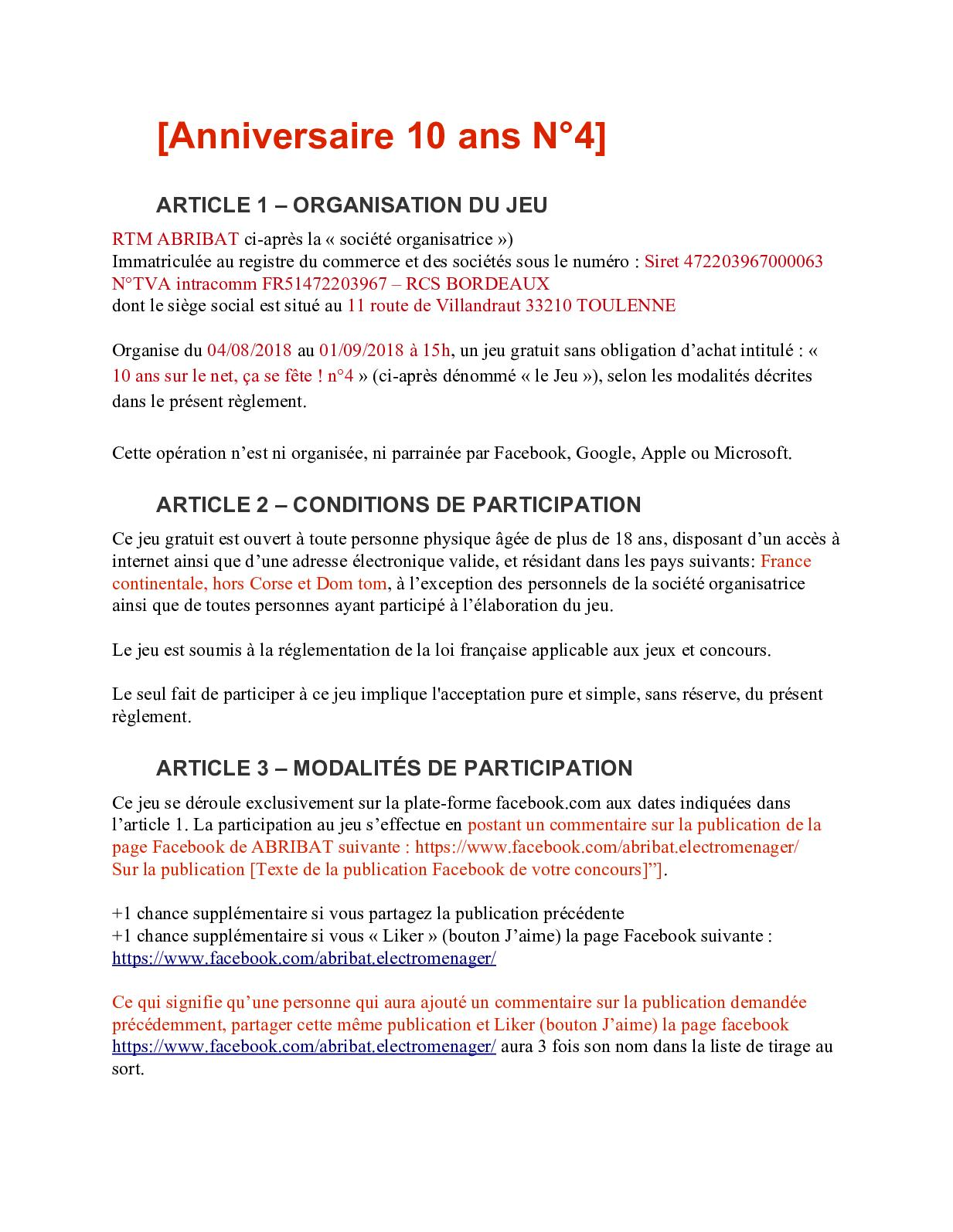 Calameo Reglement Concours 4
