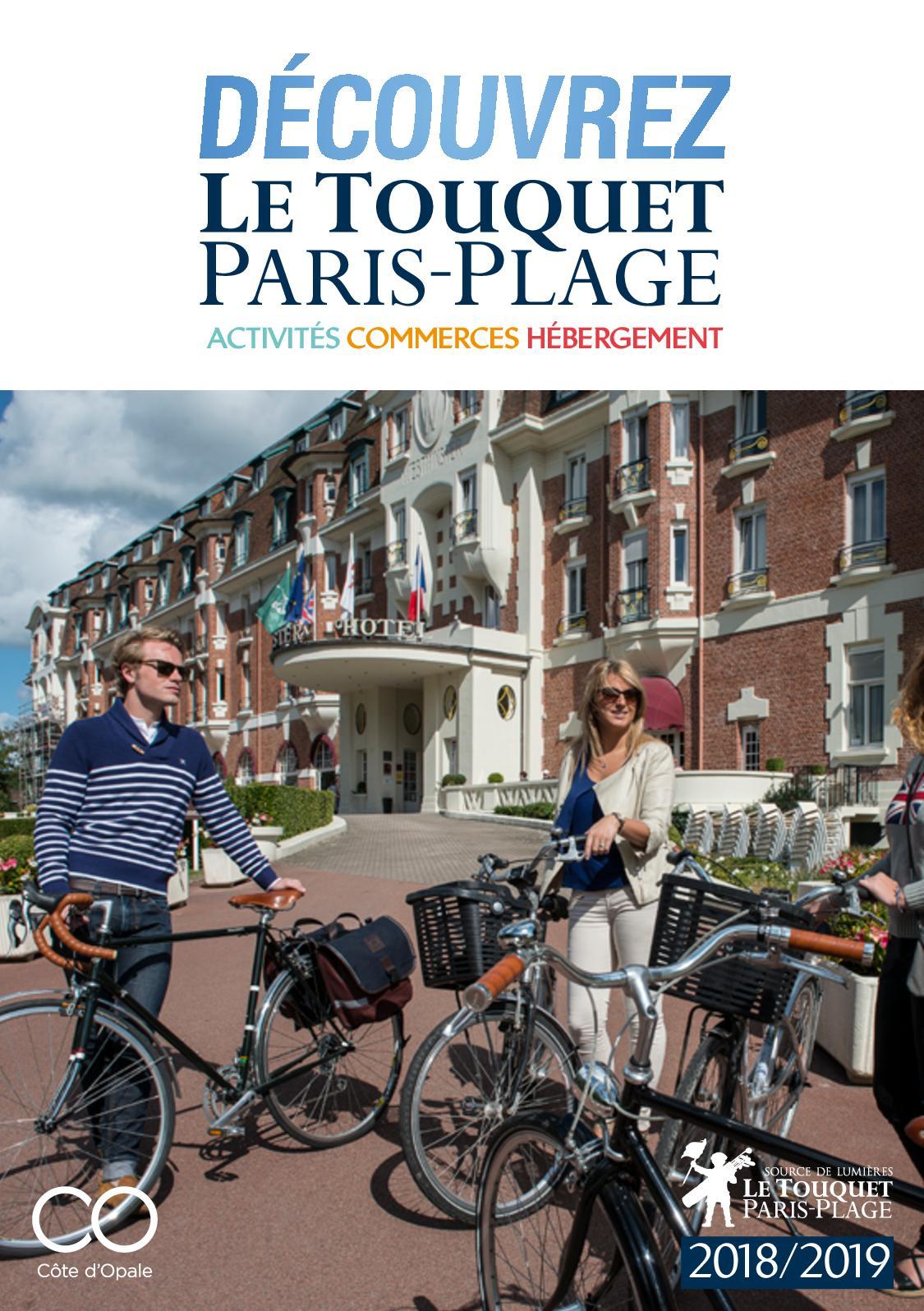 Calam o decouvrez le touquet paris plage 2018 - Office du tourisme le touquet paris plage ...
