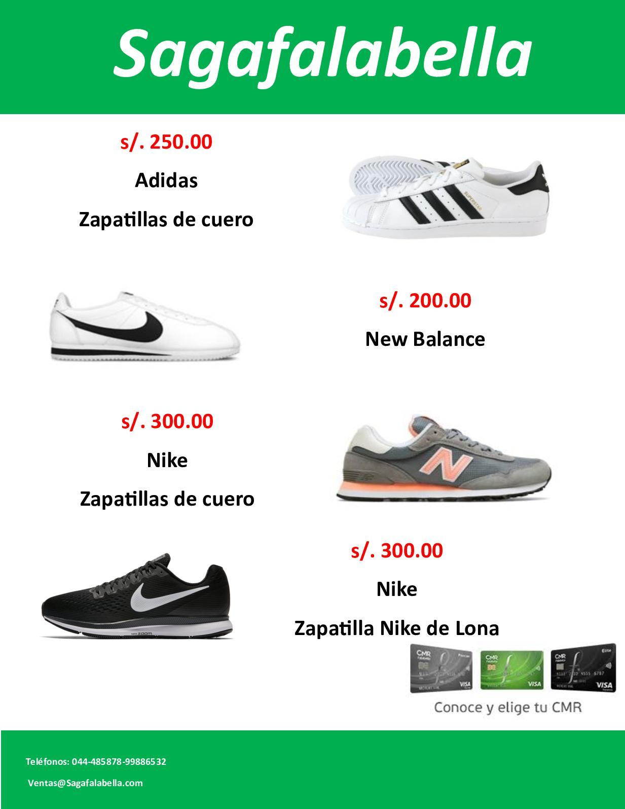 zapatillas new balance saga falabella