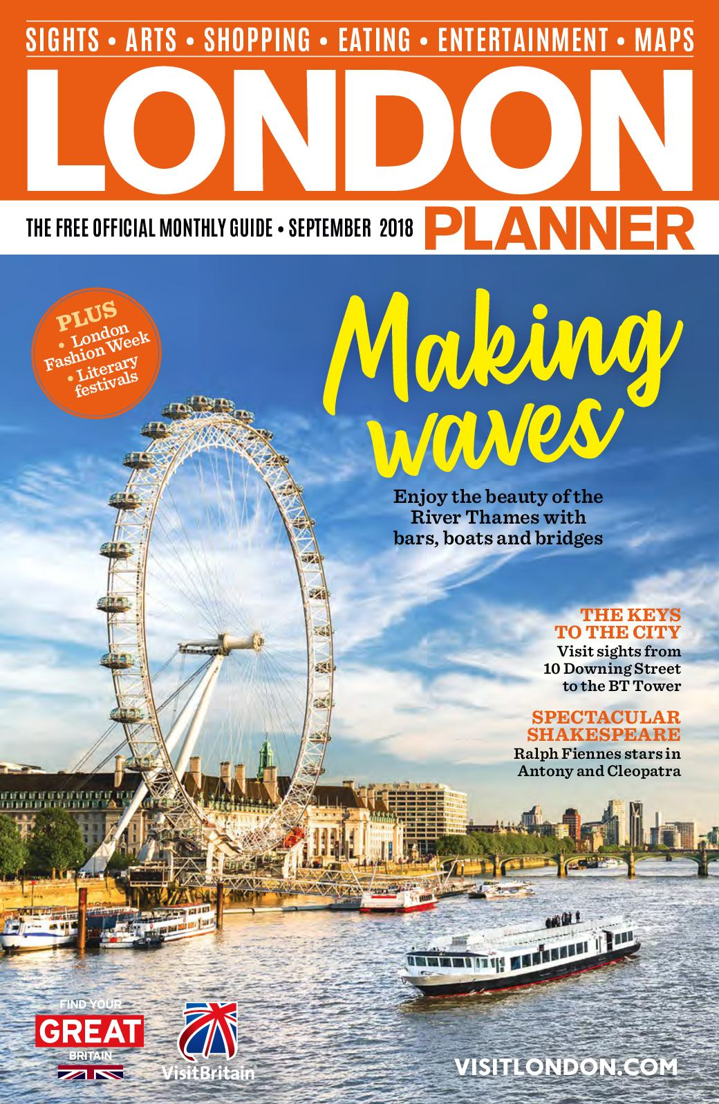 Calaméo - LONDON PLANNER SEPTEMBER 2018